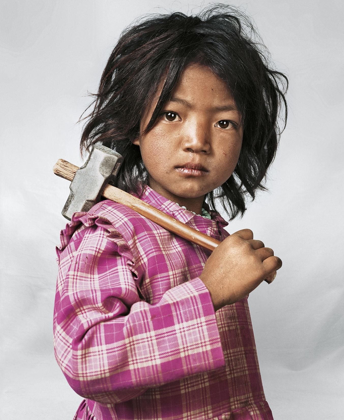 Indira. Kathmandu, Nepal. March, 2007 © James Mollison courtesy Aperture