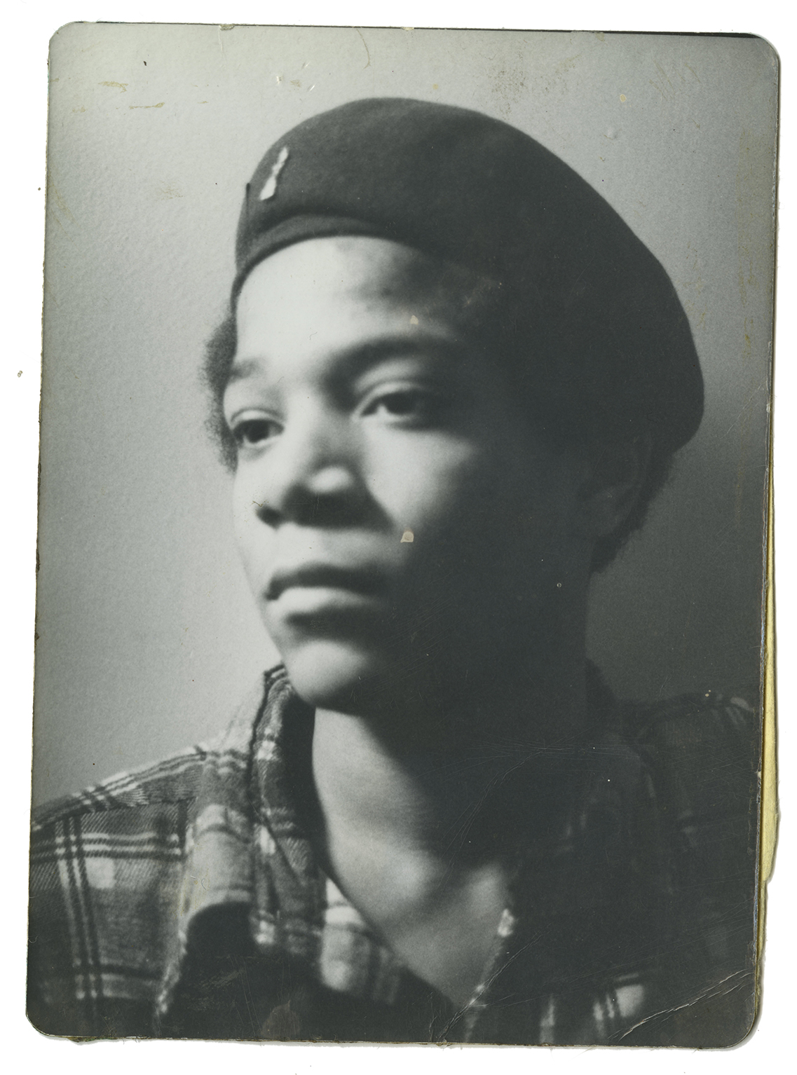 Jean-Michel Basquiat, 1976. Photo by Al Diaz. Courtesy of House of Roulx.