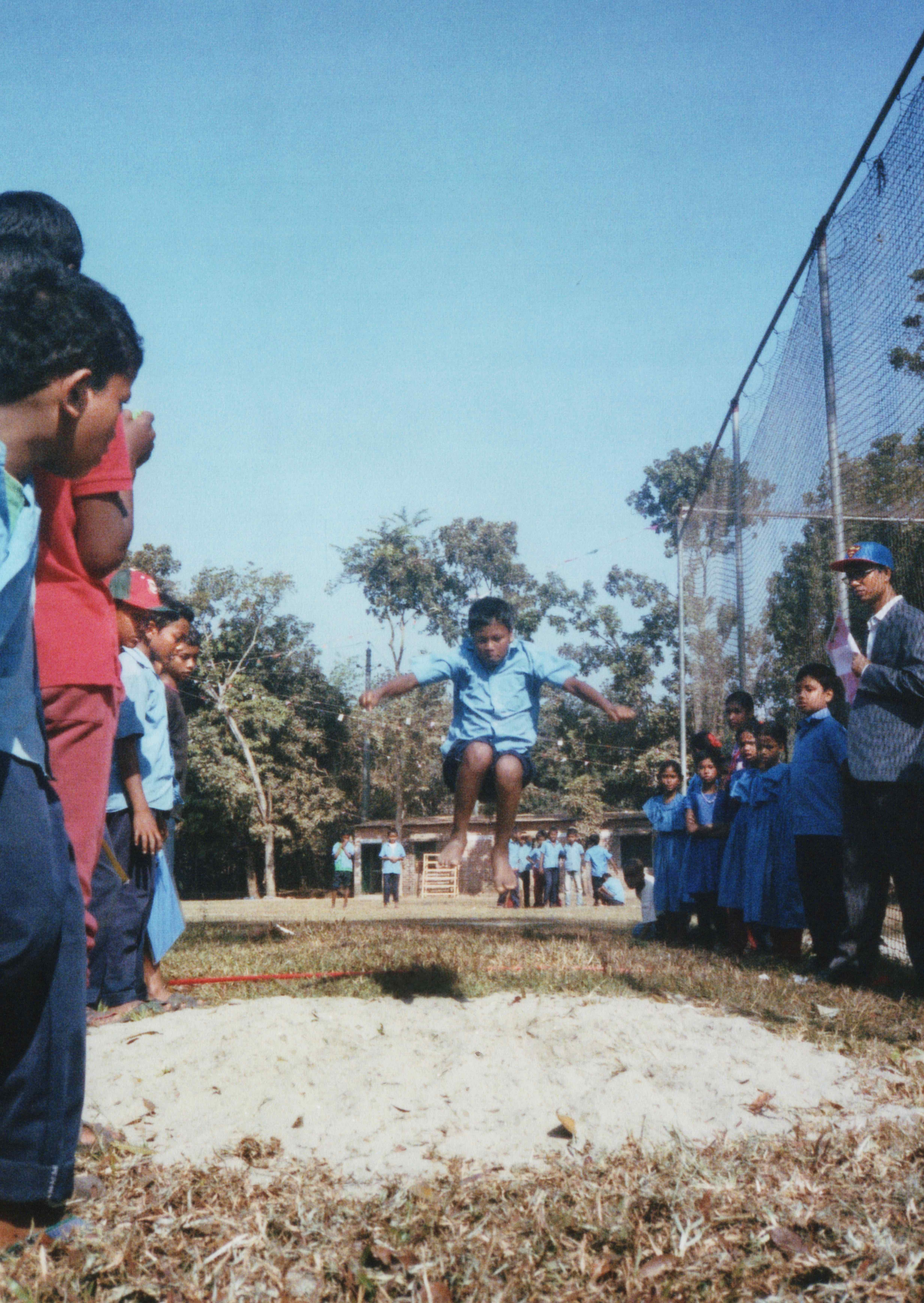 Sports Day Long Jump