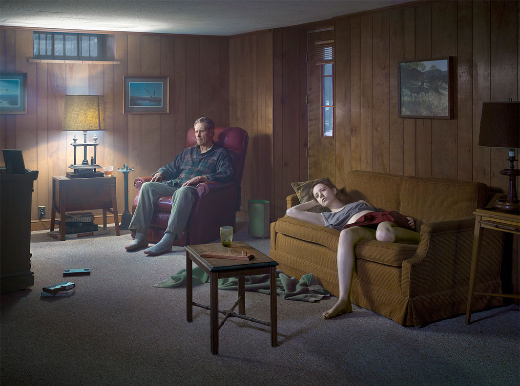The Basement, 2014 Digital pigment print © Gregory Crewdson. Courtesy Gagosian.