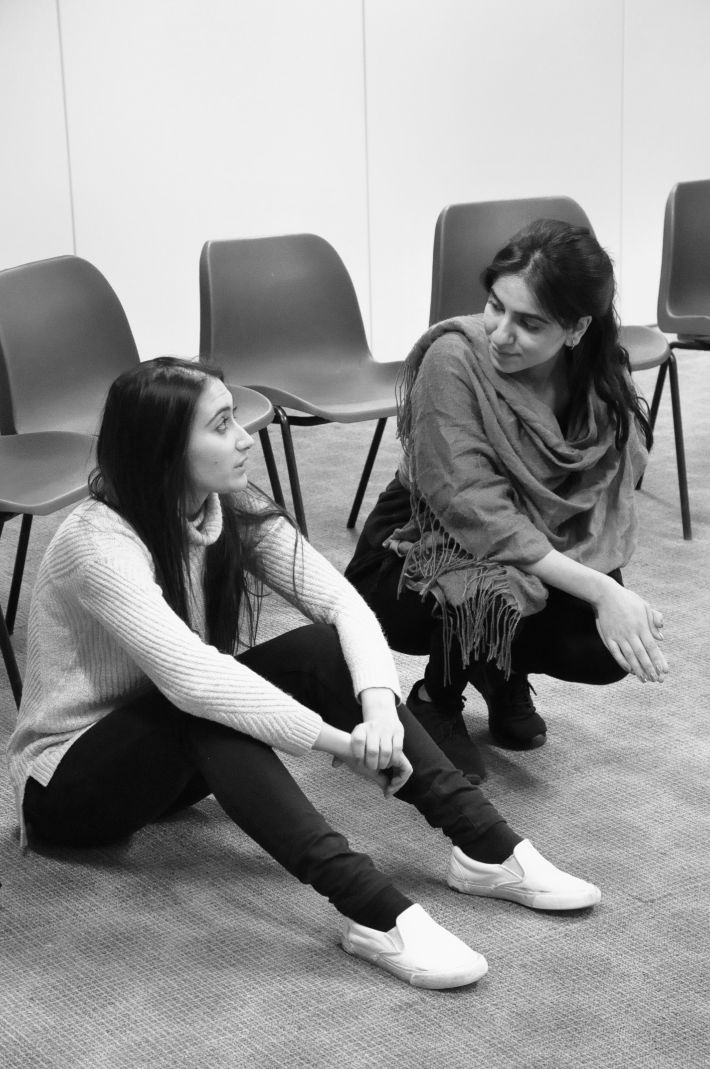Rehearsing Sahar Speaks, photography Manuela Chastelain