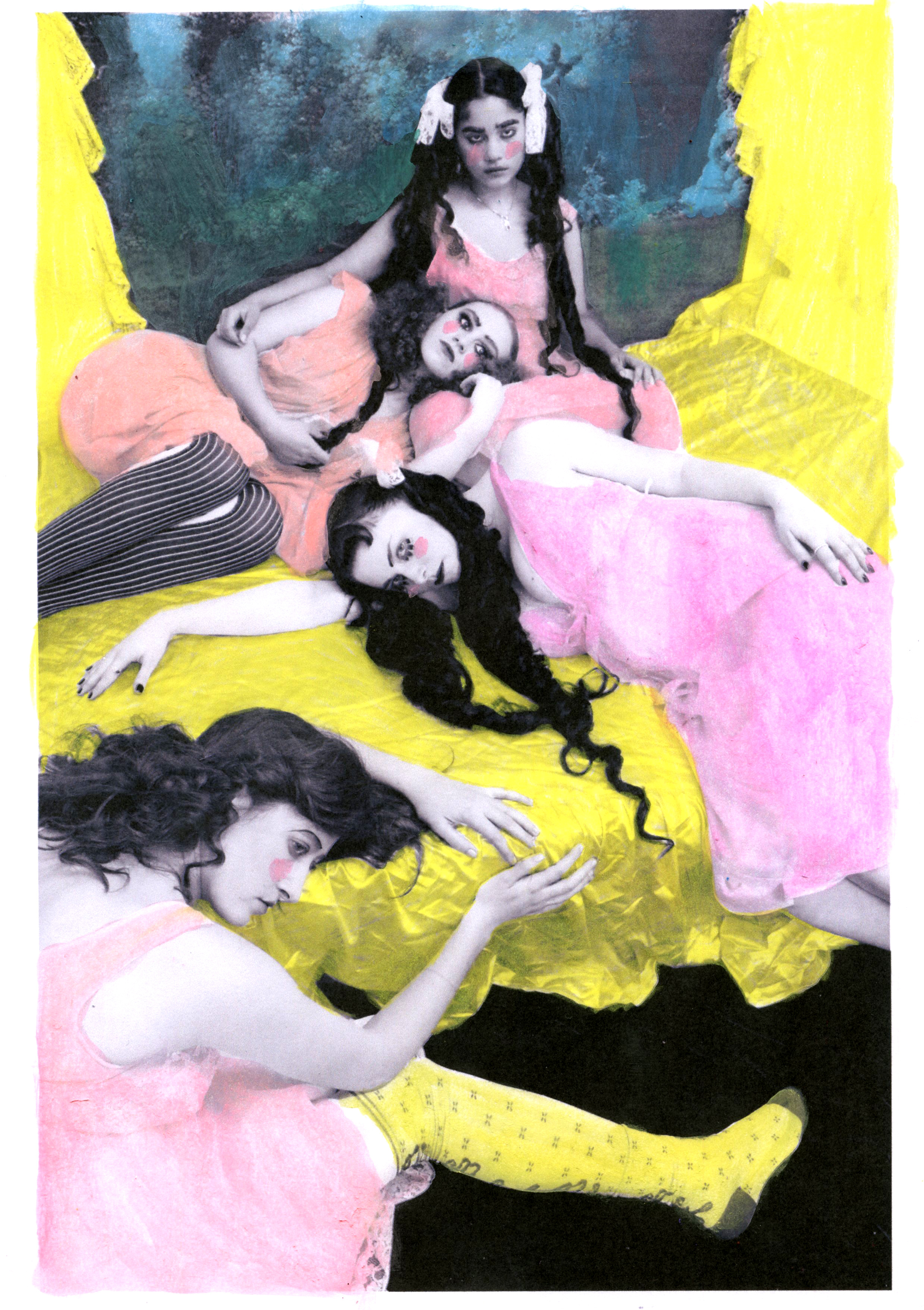 'Hysteria', by Rachel Hodgson for Polyester Daughters of Darkness
