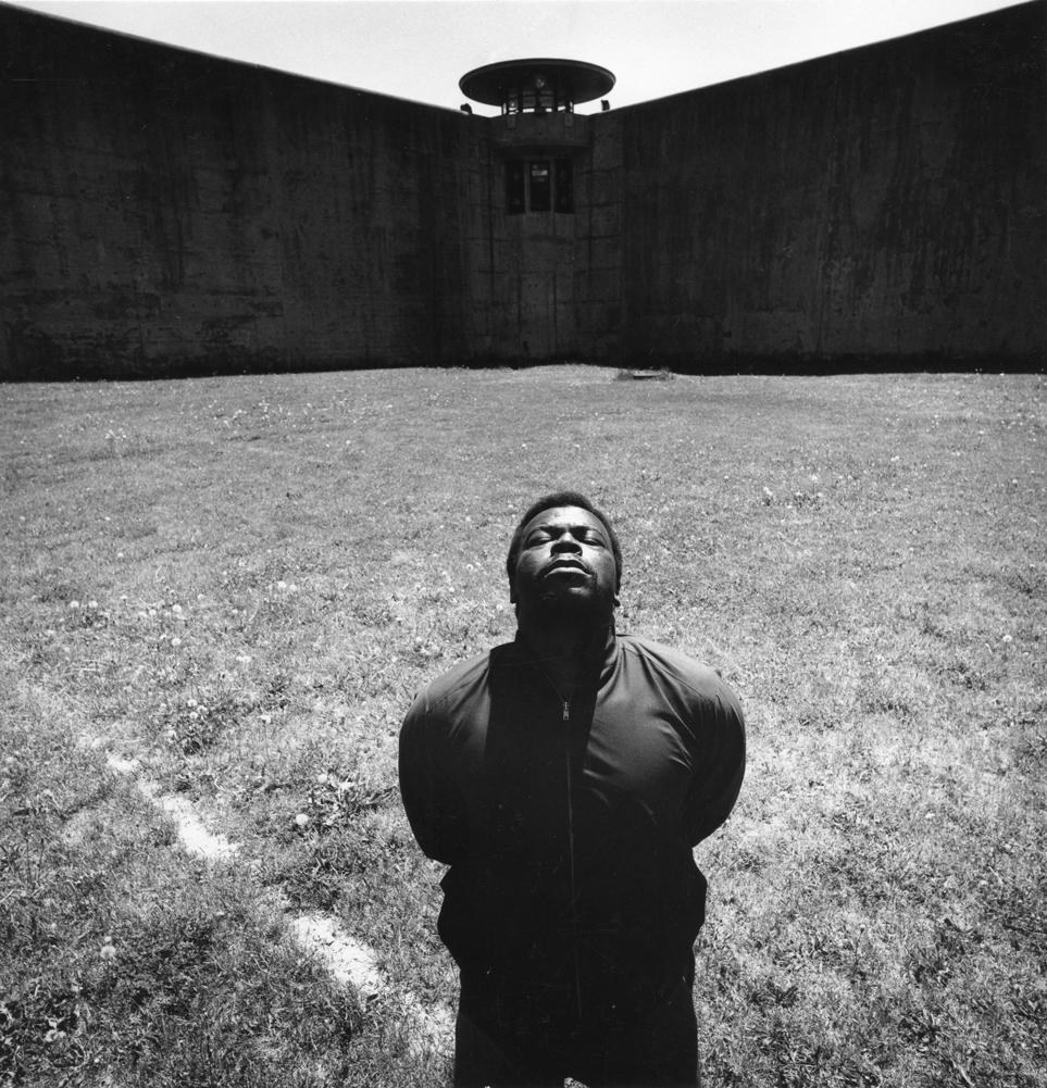 An inmate at Sing Sing Prison, 1974. Photo: Arthur Tress.
