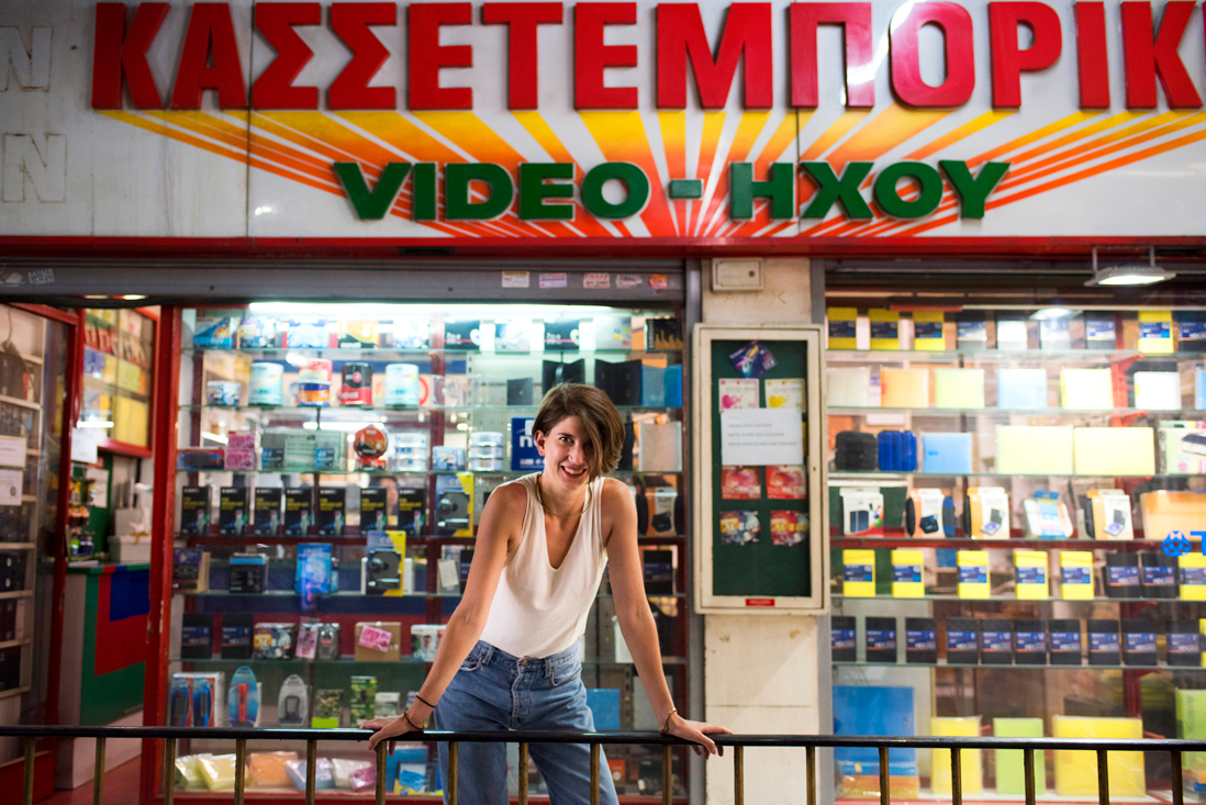 Natassa Pappa, the designer behind grassroots arts campaign Reclaim Athens.