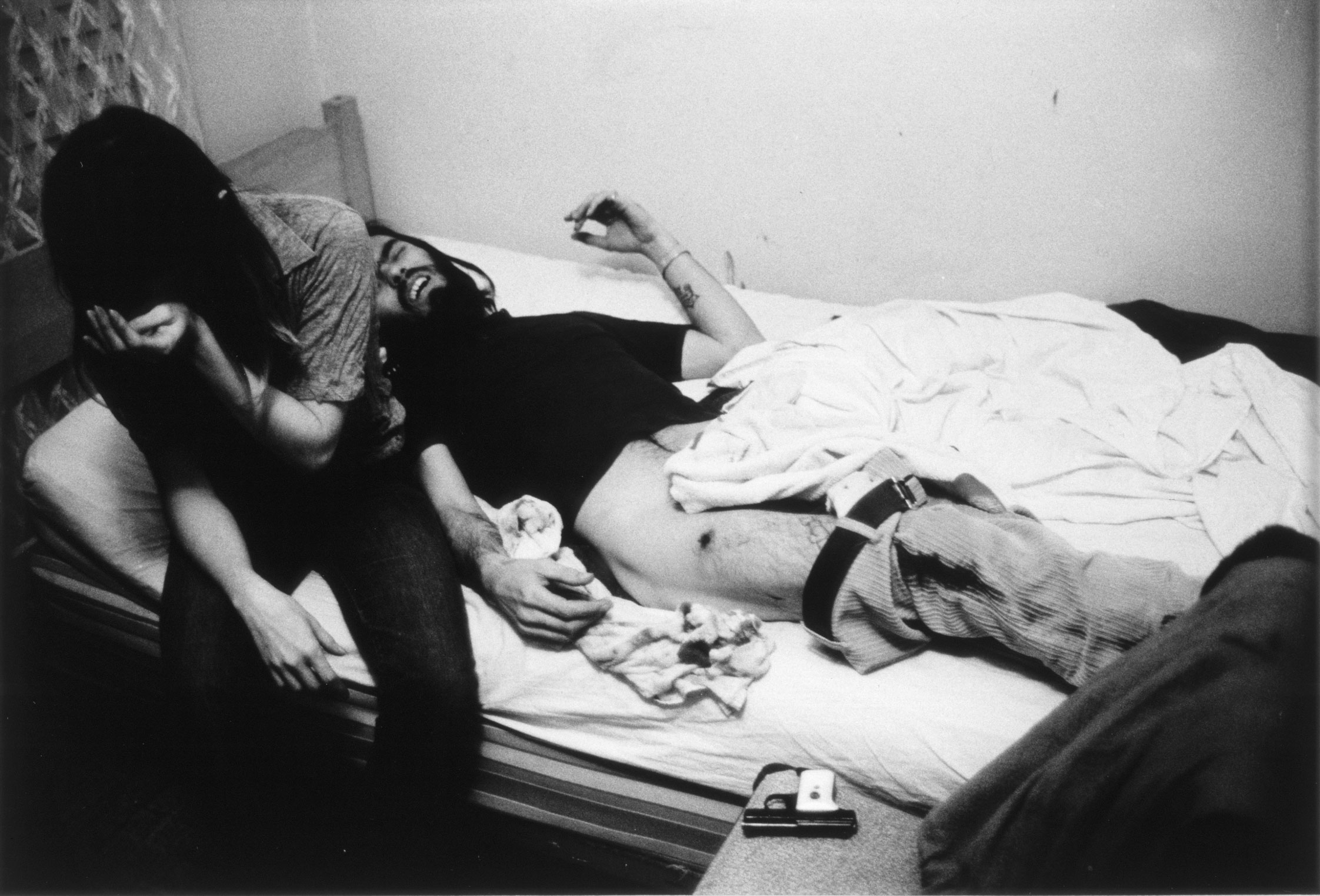 Accidental Gunshot Wound, 1971. Courtesy of Larry Clark, Luhring Augustine, New York & Simon Lee Gallery, London/Hong Kong.