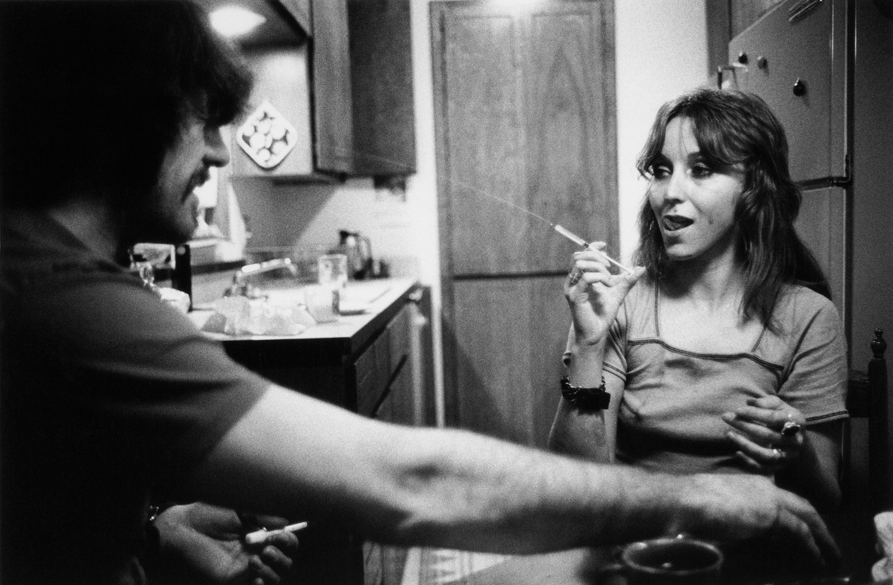 Jack and Lynn Johnson, Oklahoma City, 1973. Courtesy of Larry Clark, Luhring Augustine, New York & Simon Lee Gallery, London/Hong Kong.