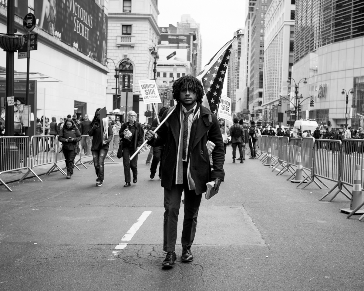 'Freedom Walk' Photo by Michael A. McCoy. Black Lives Matter NYC, NYC, 2015