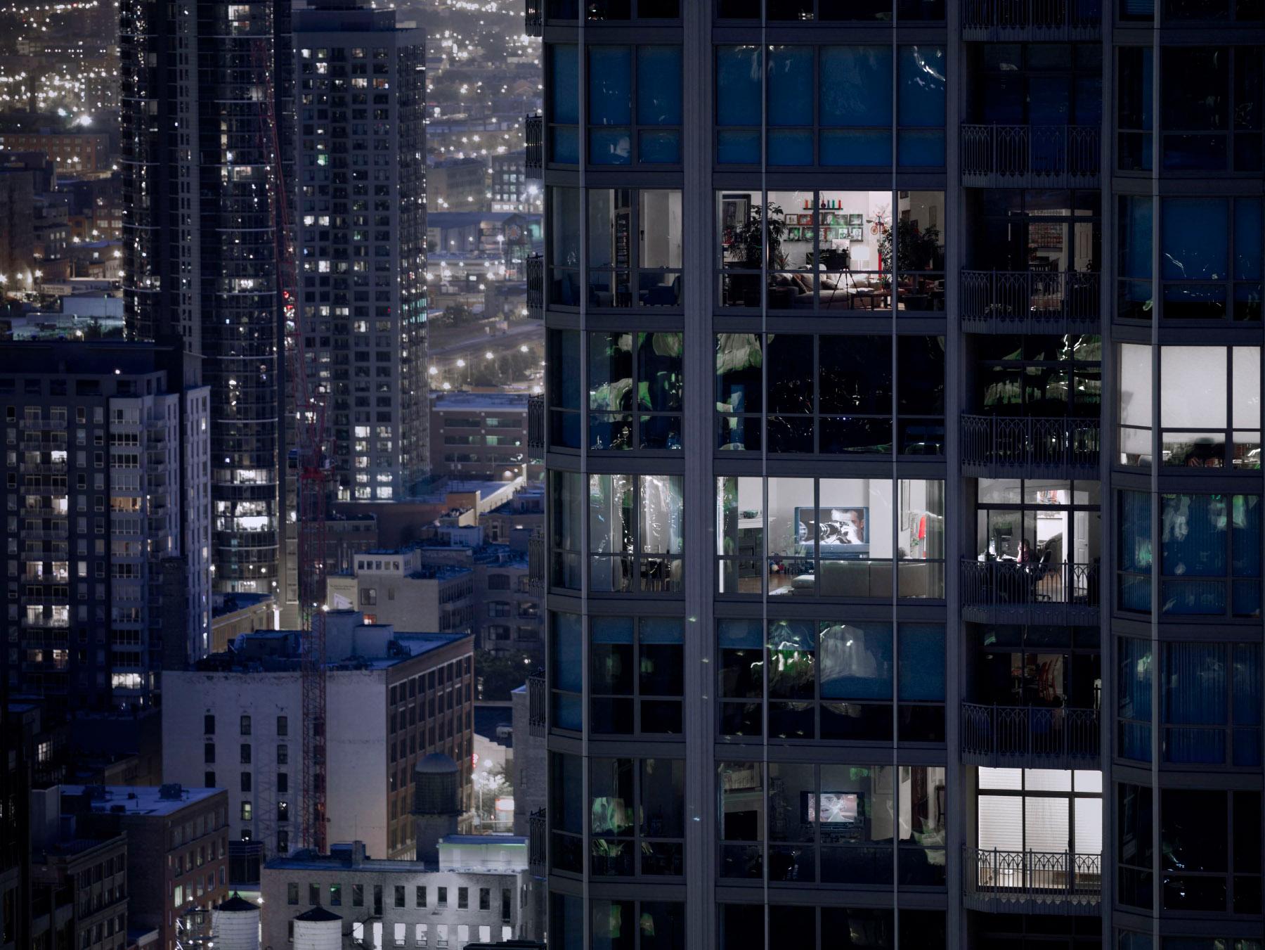 Michael Wolf, 'Transparent City # 88', 2007 © Michael Wolf | Robert Koch Gallery, work exhibited by: ROBERT KOCH