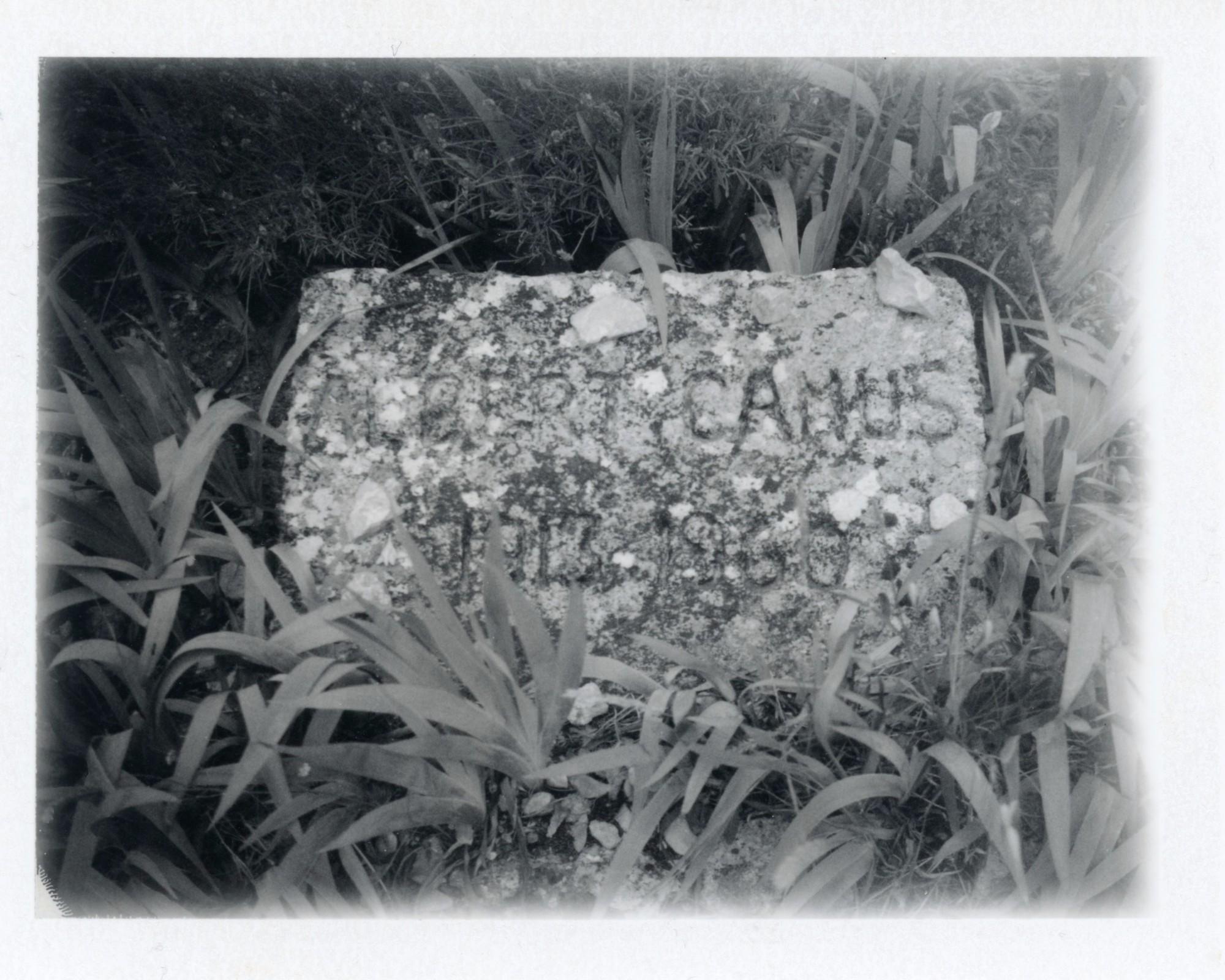 Patti Smith, 'Grave of Albert Camus', 2016 © Patti Smith, courtesy Gagosian, work exhibited by: GAGOSIAN