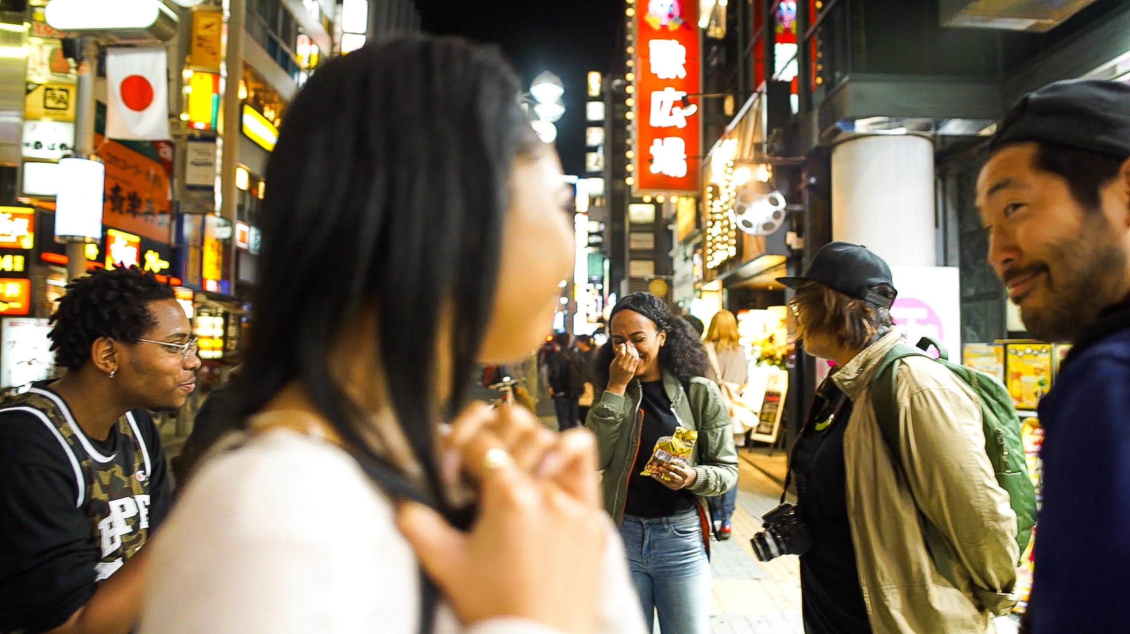 How hookup in japan as a black woman