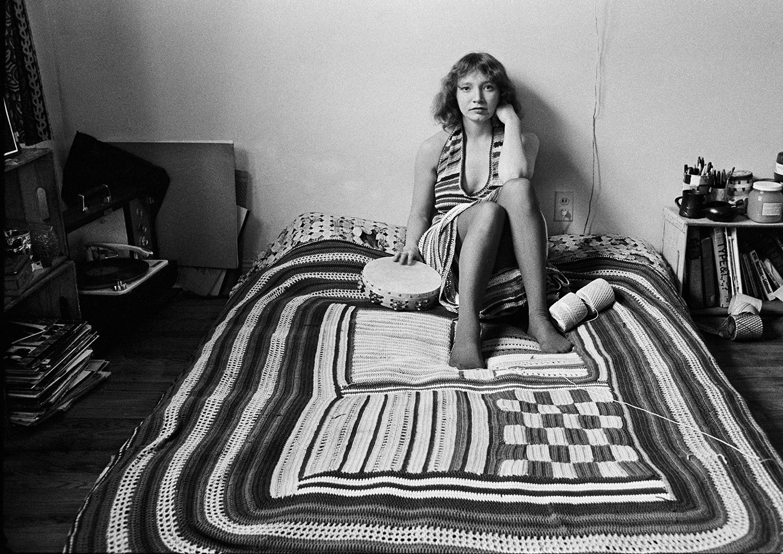 Crochet girl's bedroom, late 60's