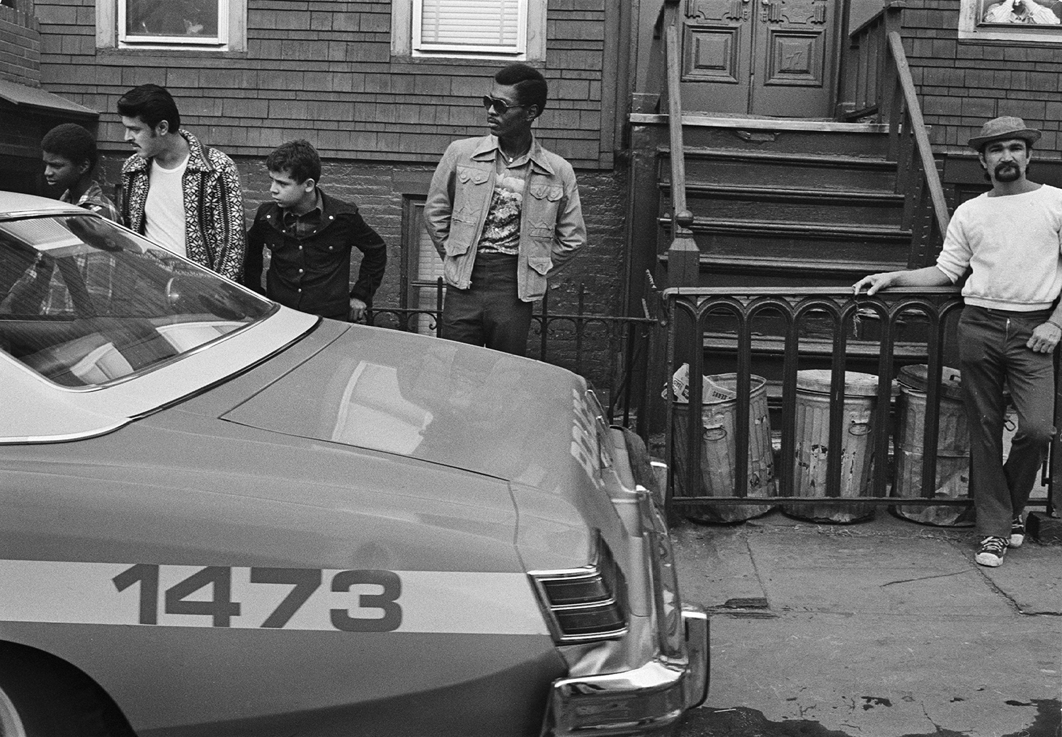 Police activity, brooklyn late 60's