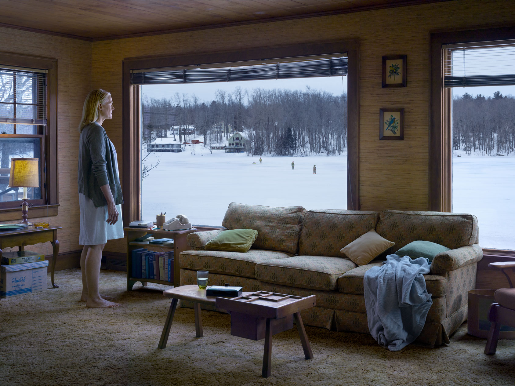 The Disturbance, 2014 Digital pigment print © Gregory Crewdson. Courtesy Gagosian.