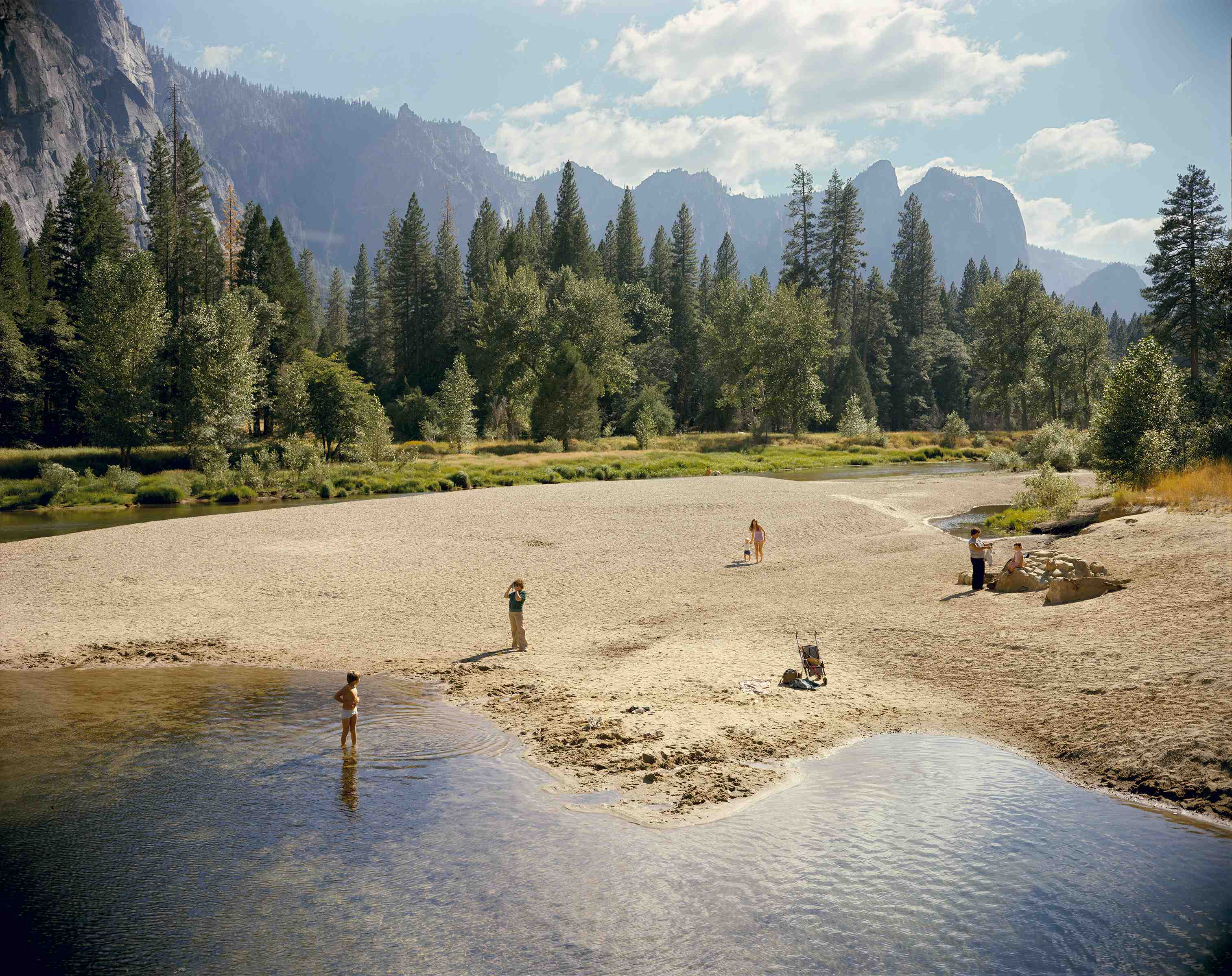 Merced River, Yosemite National Park, California, August 13, 1979. The Museum of Modern Art, New York. Gift of the artist. © 2017 Stephen Shore
