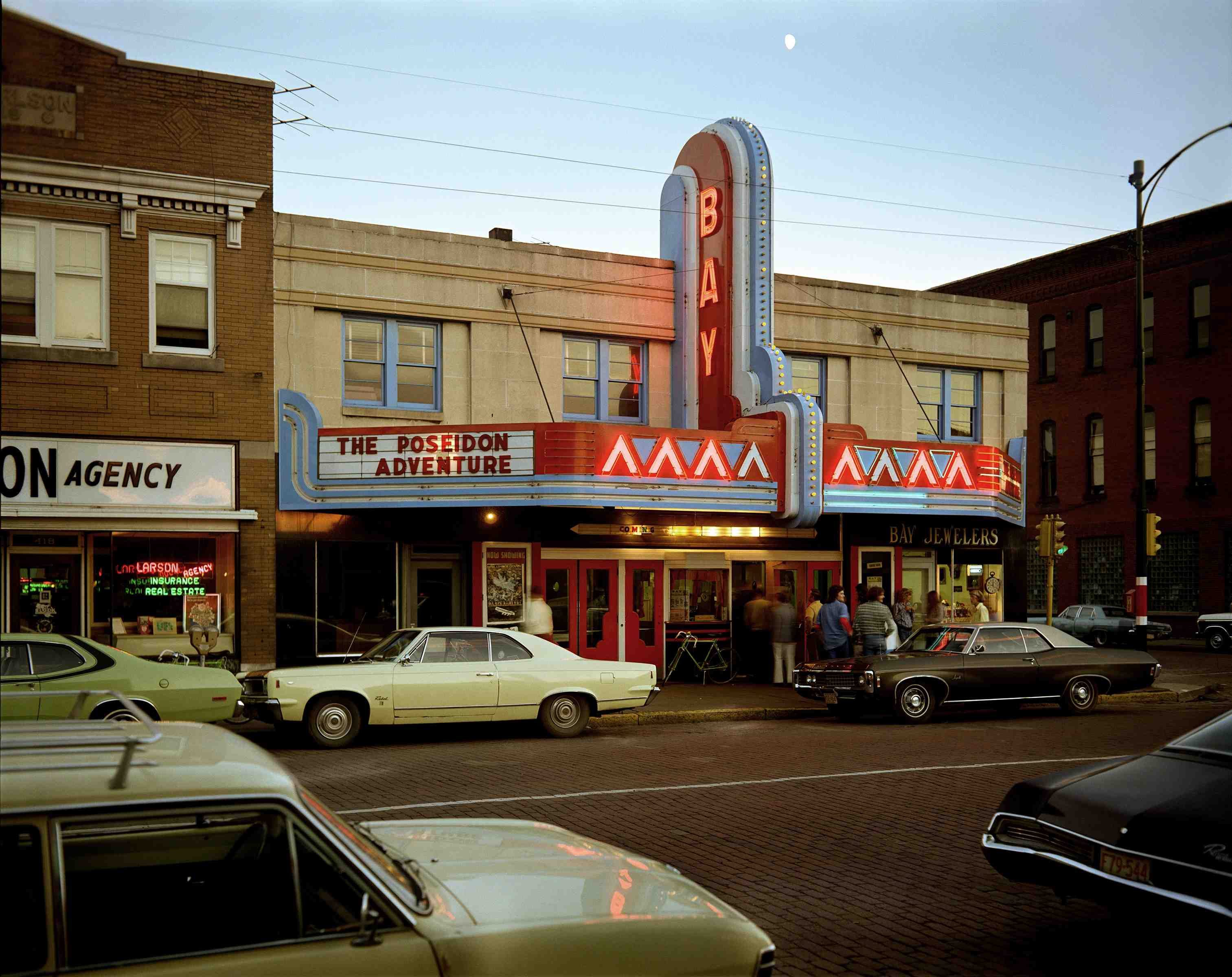 Second Street, Ashland, Wisconsin, July 9, 1973. 1973. Courtesy the artist. © 2017 Stephen Shore