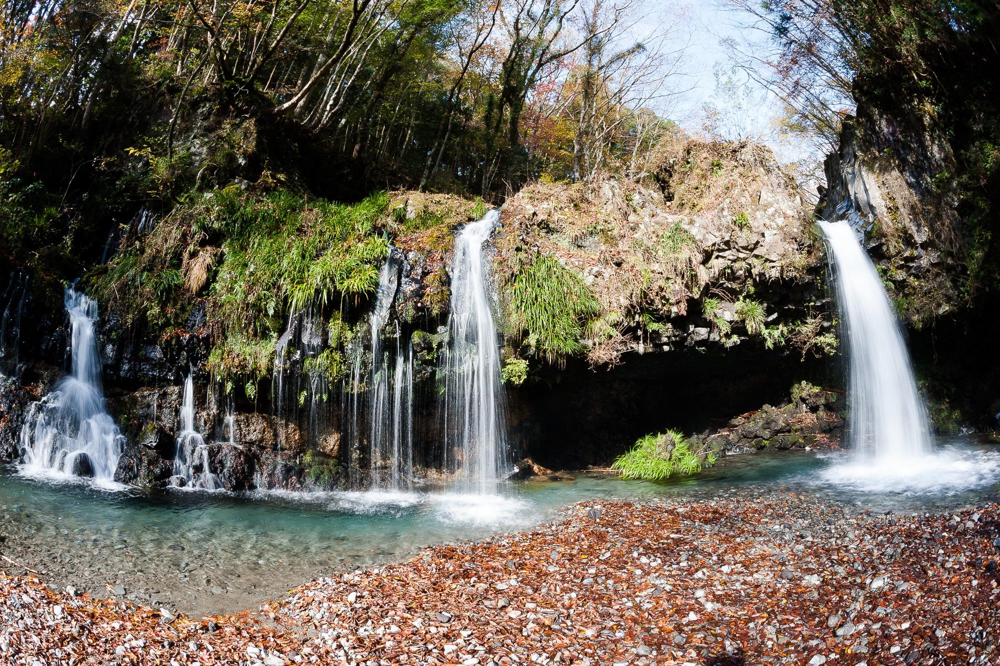 Jinba Falls - Fujinomiya, Yamanashi.