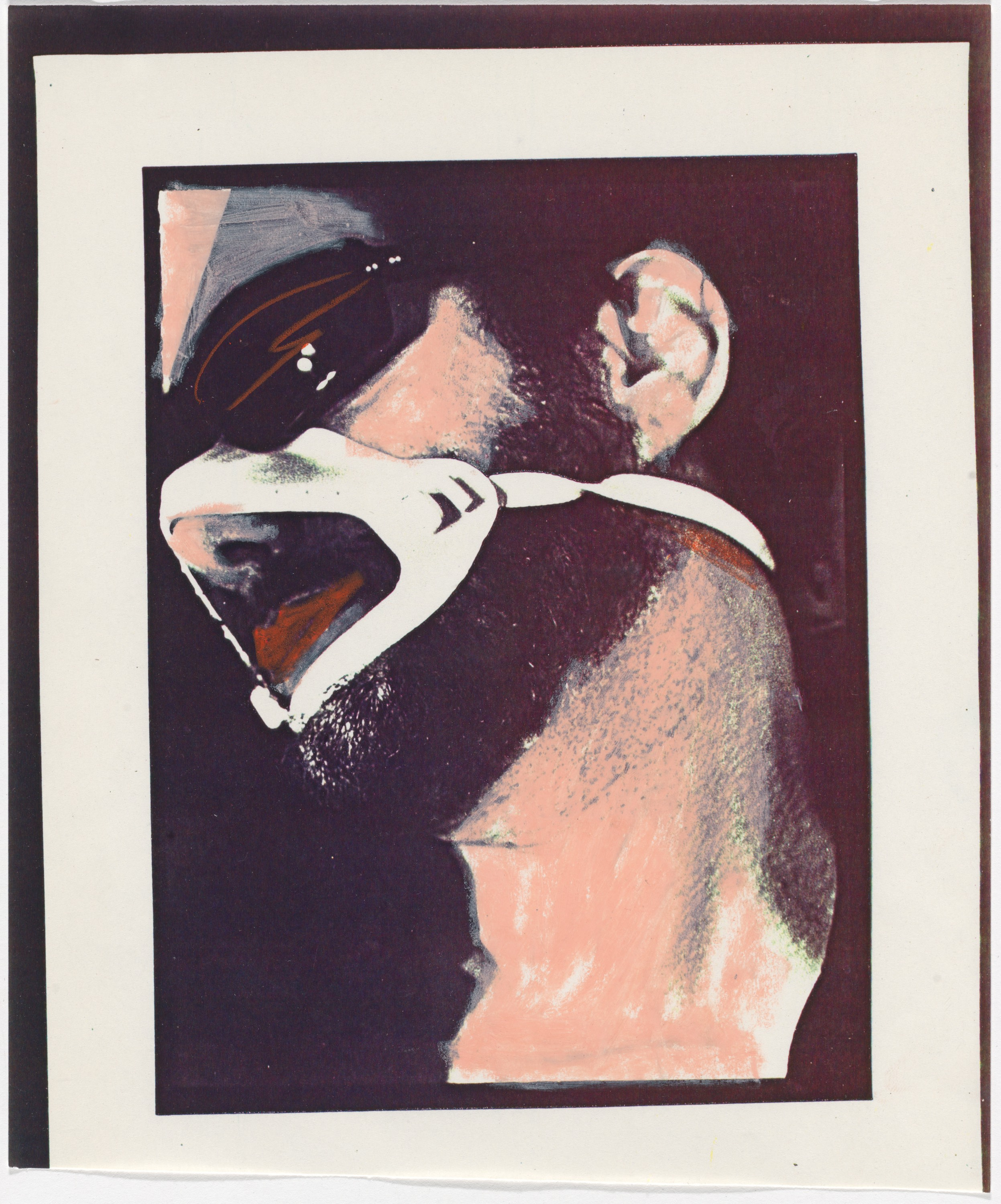 Anney Bonney (American, born 1949). Process art from Shattered (Male Bondage: Carl Apfelschnitt), 1978–79. Xerox collage. The Museum of Modern Art, New York. Department of Film Special Collections