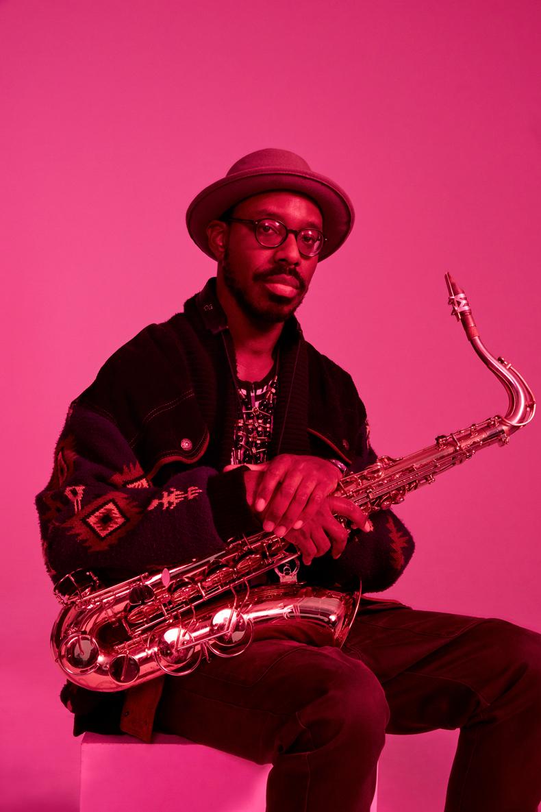 Shabaka Hutchings, saxophonist.