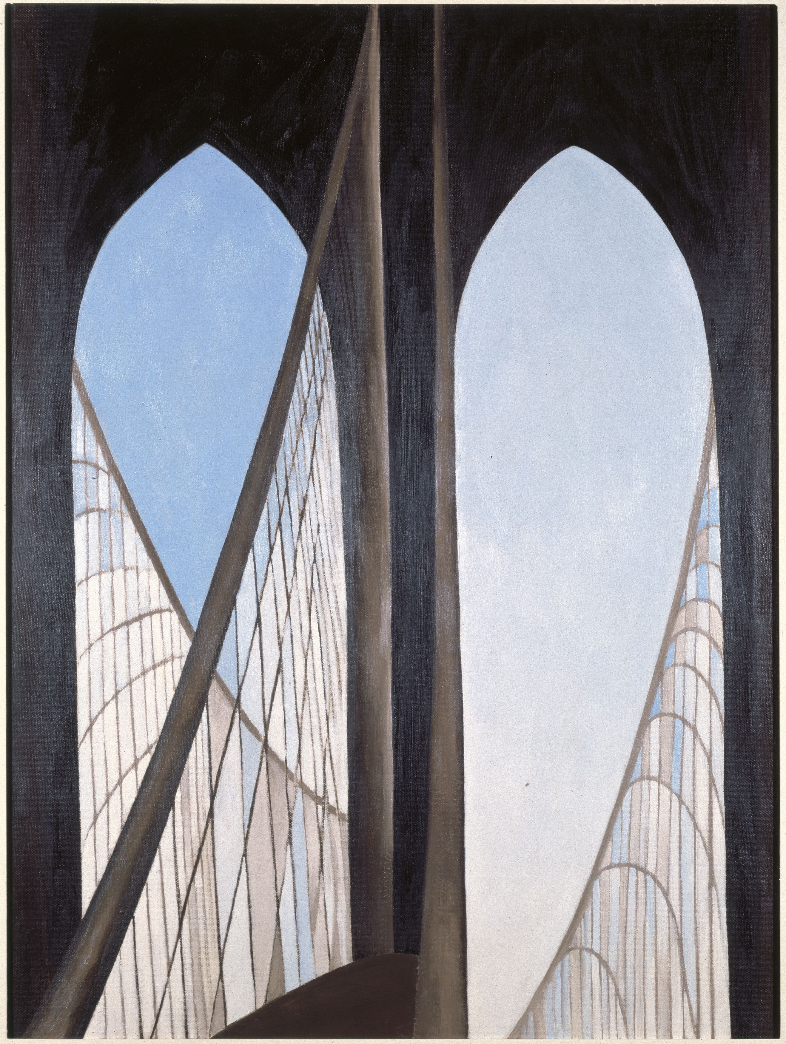 Brooklyn Bridge, 1949. Brooklyn Museum; Bequest of Mary Childs Draper, 77.11. (Photo: Brooklyn Museum)