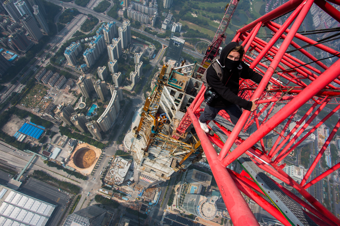 The daredevil climber risking his life for the world's best views