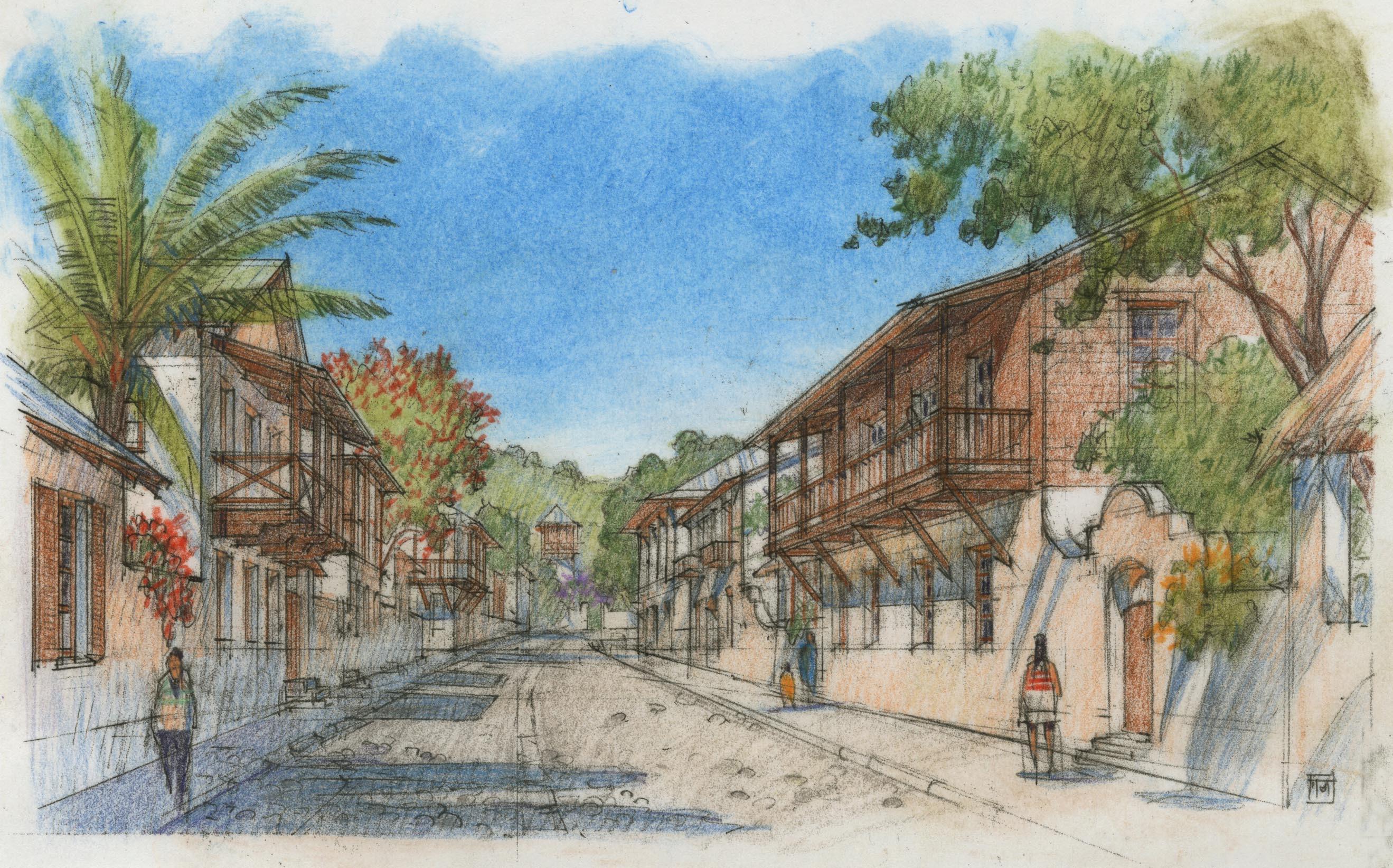 Kalu Yala - Town Sketch