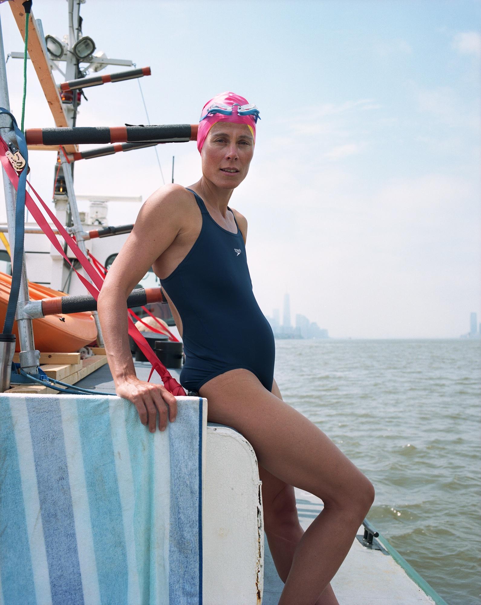 Rondi, 8 Bridges Swim Organizer, The Hudson River