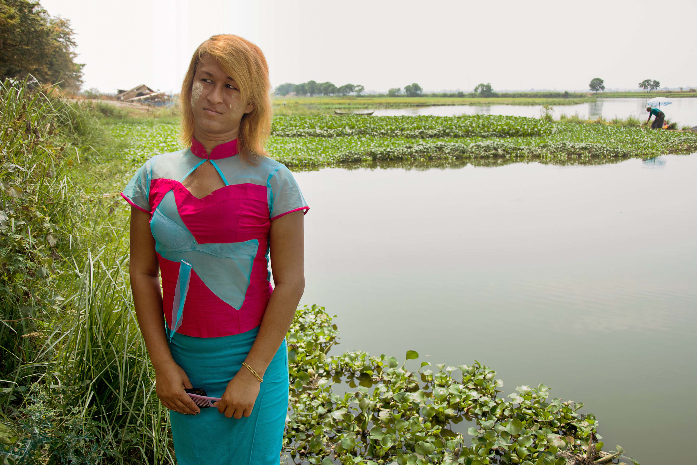 Sai Sai in the countryside just outside Mandalay.