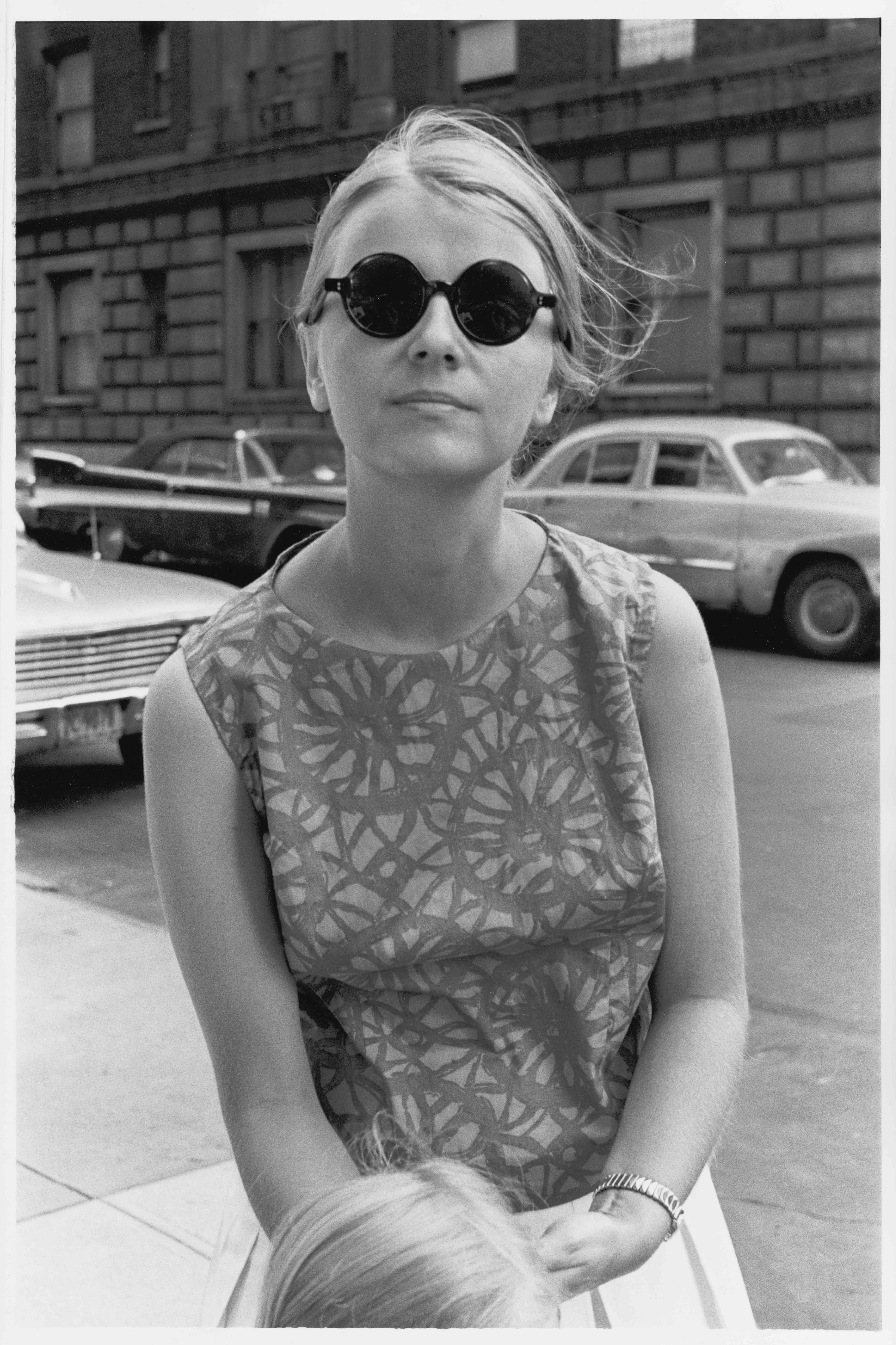 Monika in sunglasses, 1963