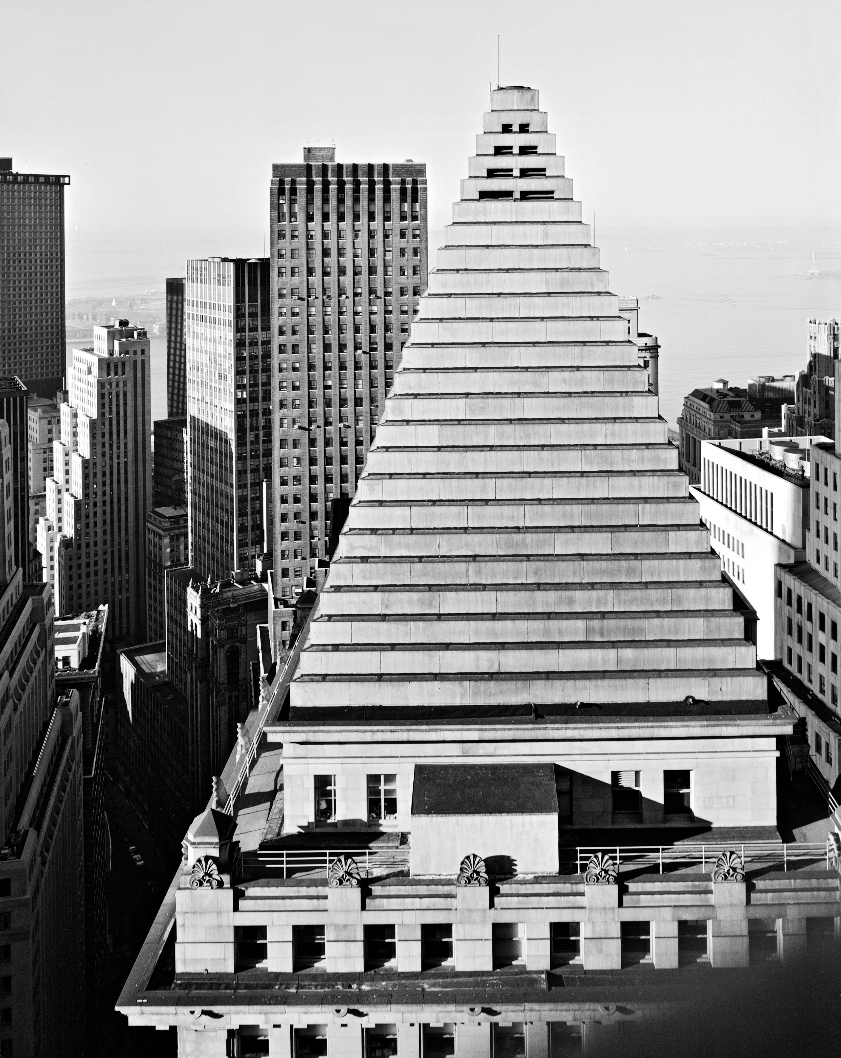 From the Equitable Building, 1978.