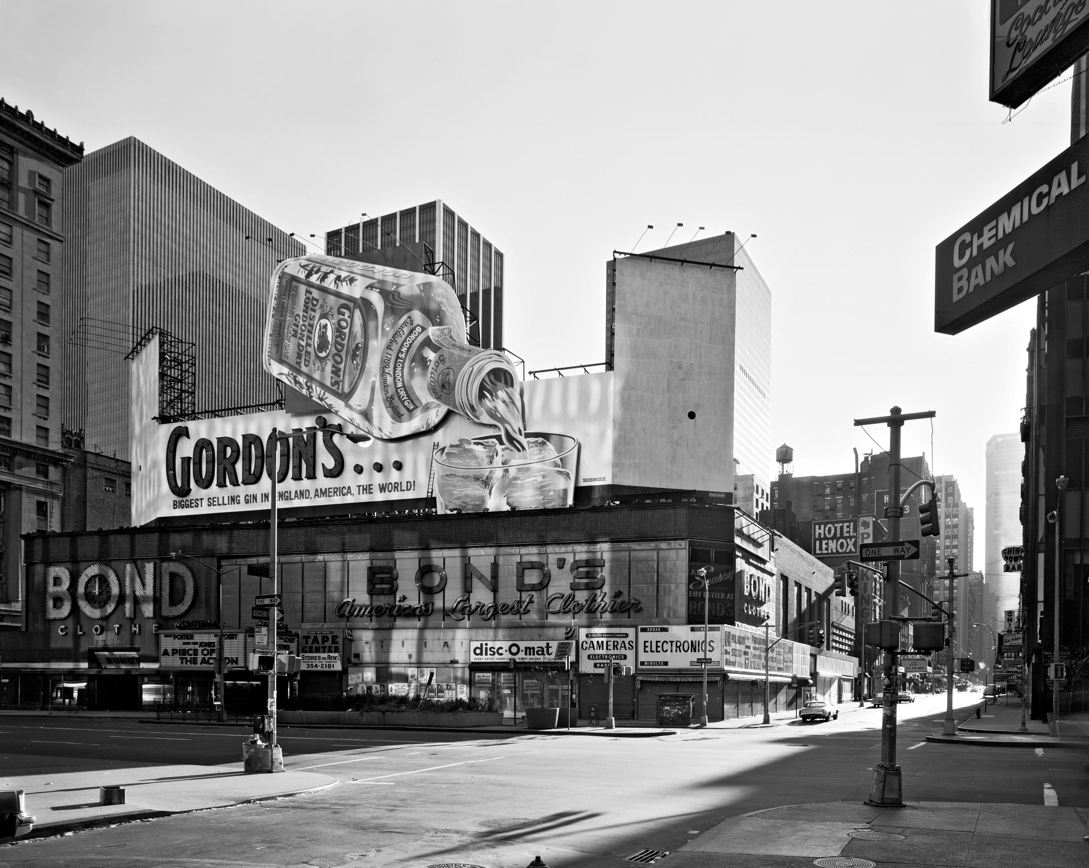 Gordon's gin, 1978.