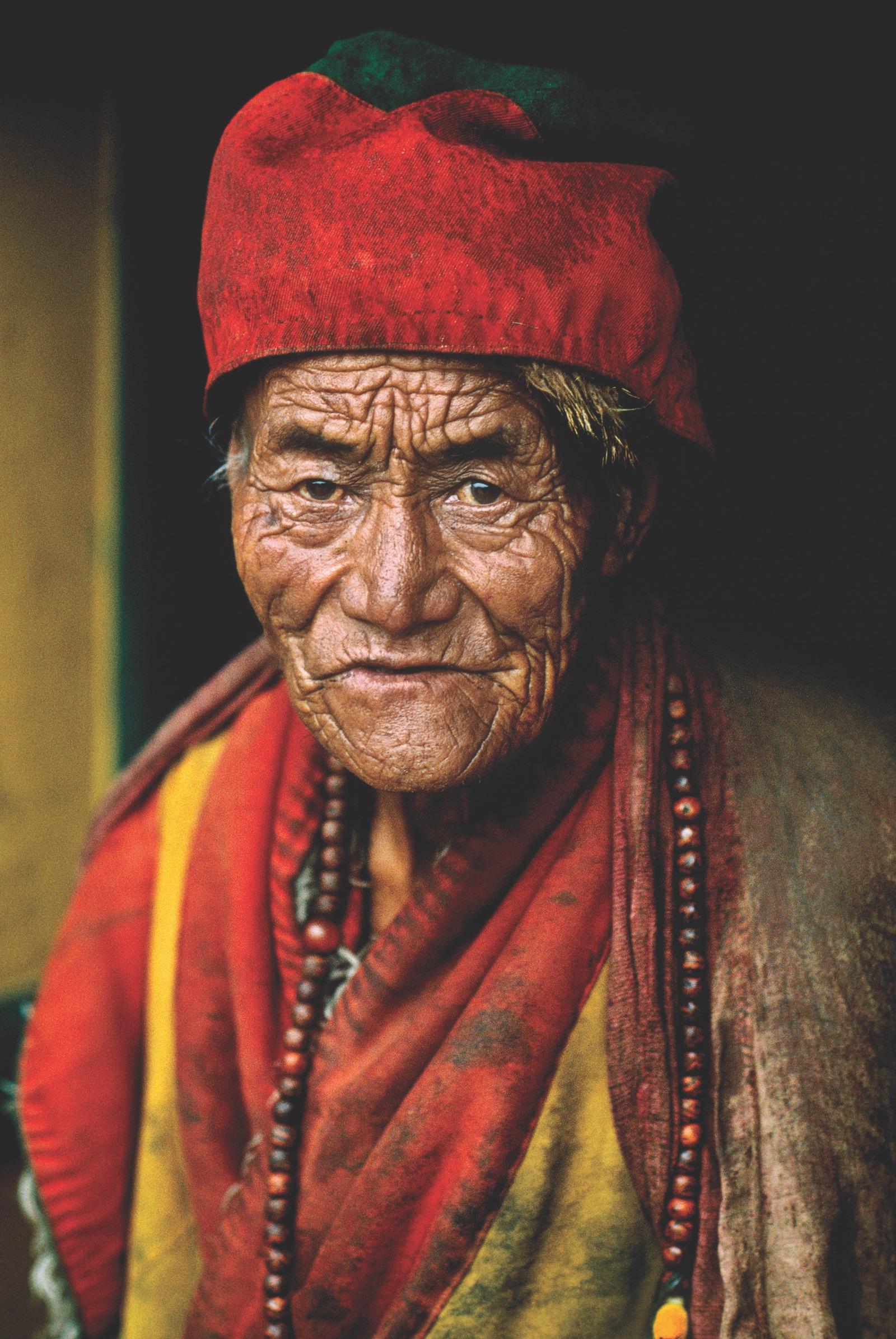 Monk, Kham, Tibet, 1999.