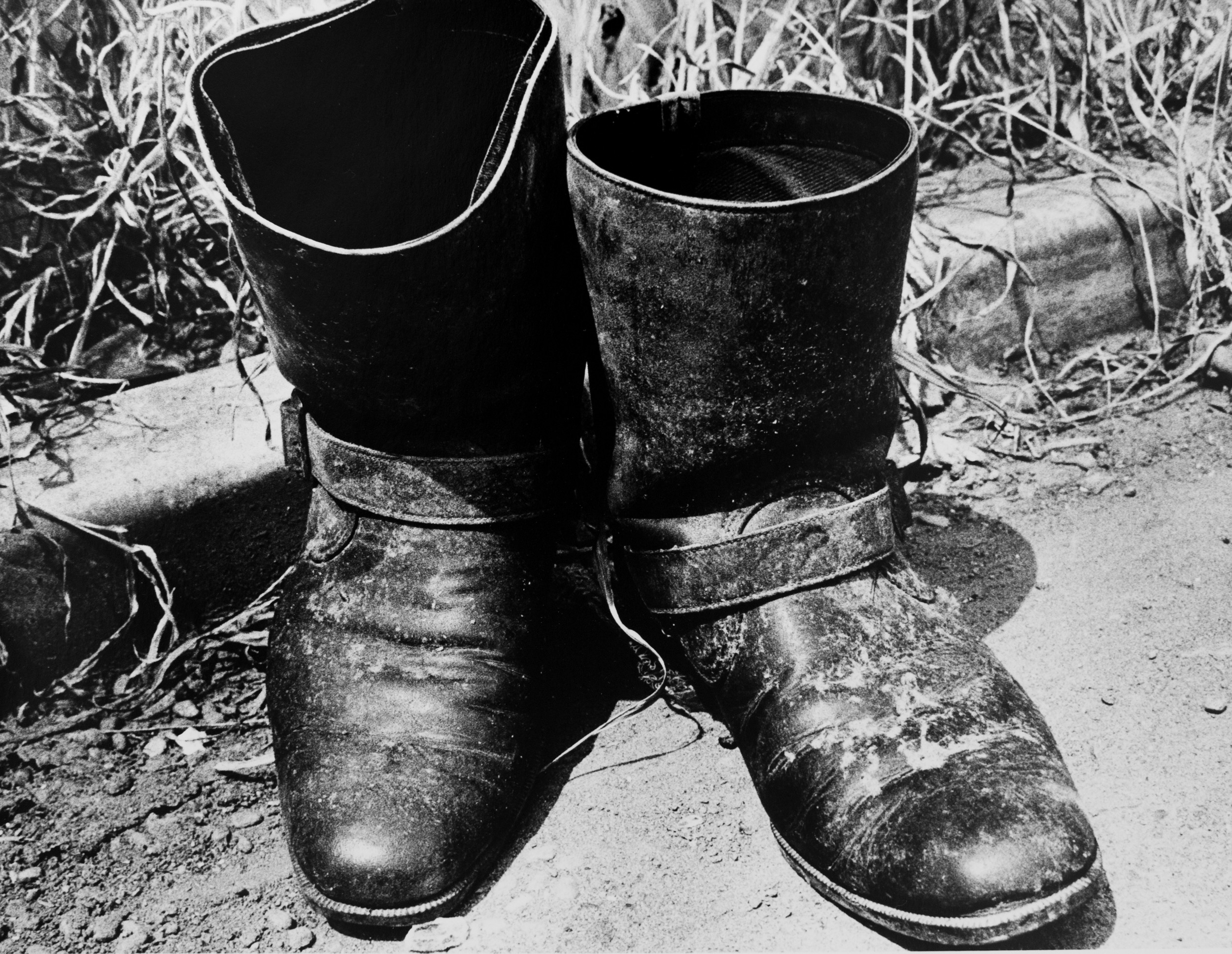 """Light and Shadow: On the Road (Boots)"", 1981, 1981"