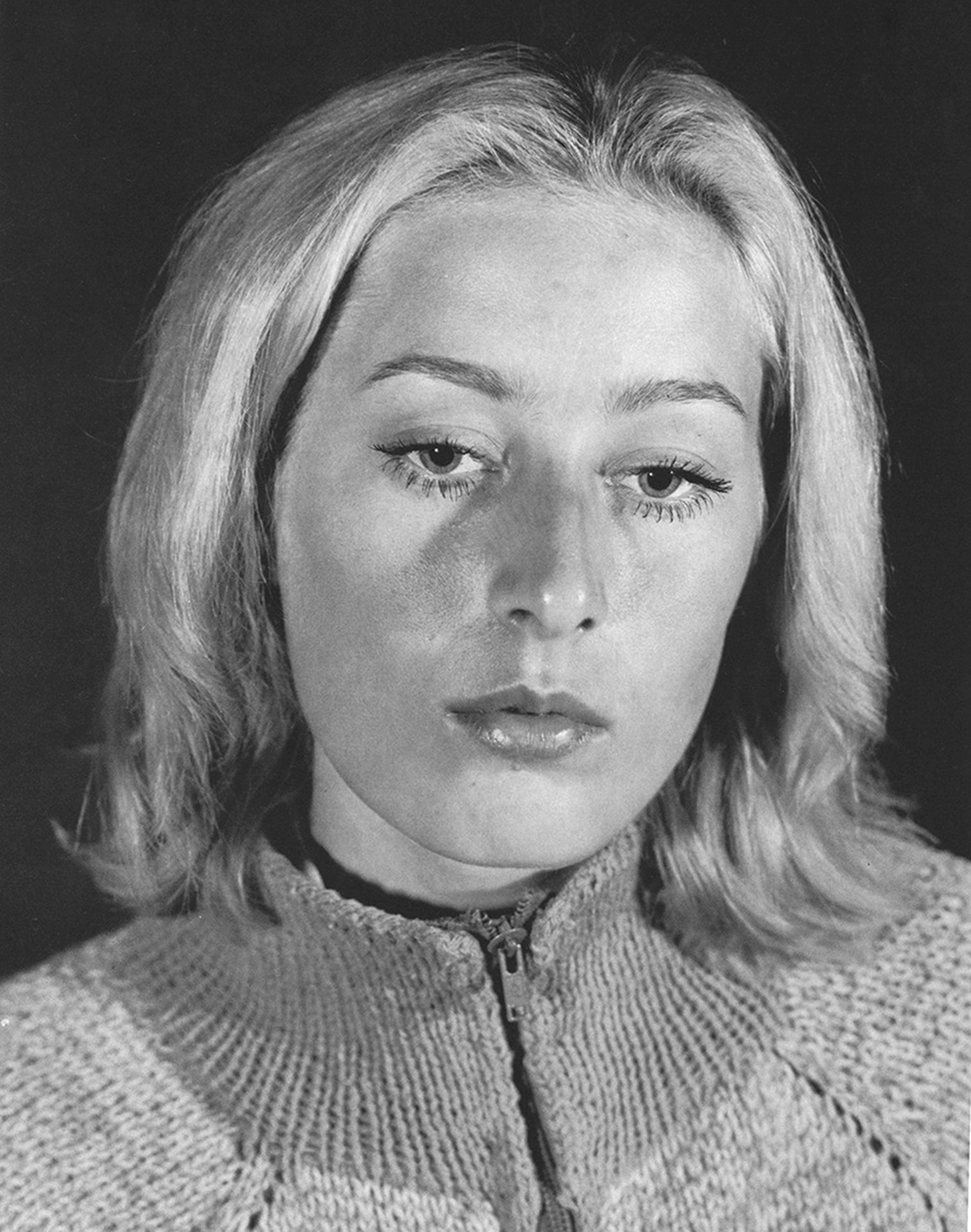 Woman with Scandinavian Features, 1977
