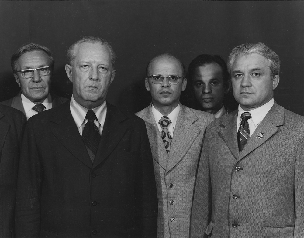 Politicians and the Party Chiefs, 1977
