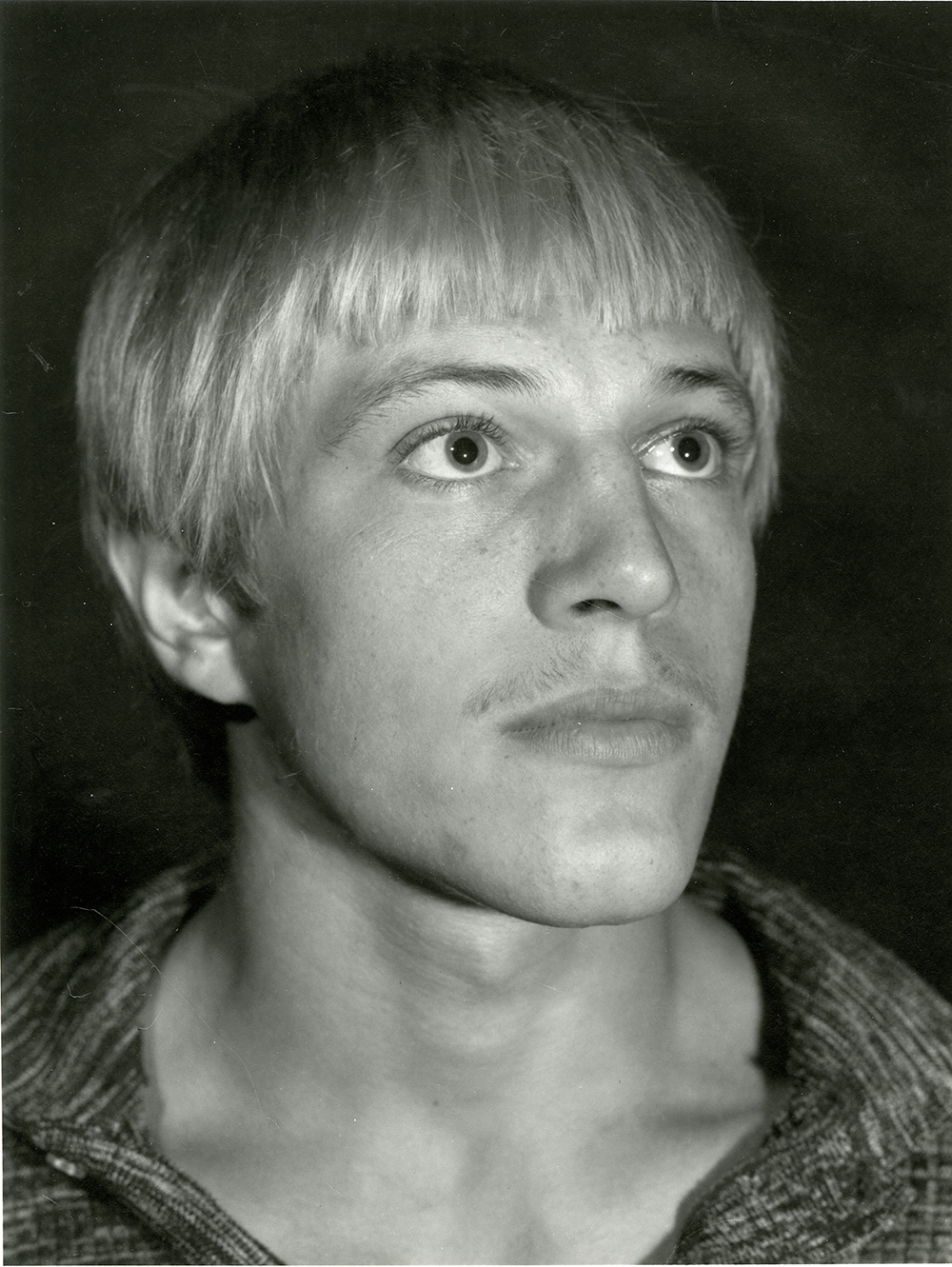 Young man with Scandinavian features, 1977