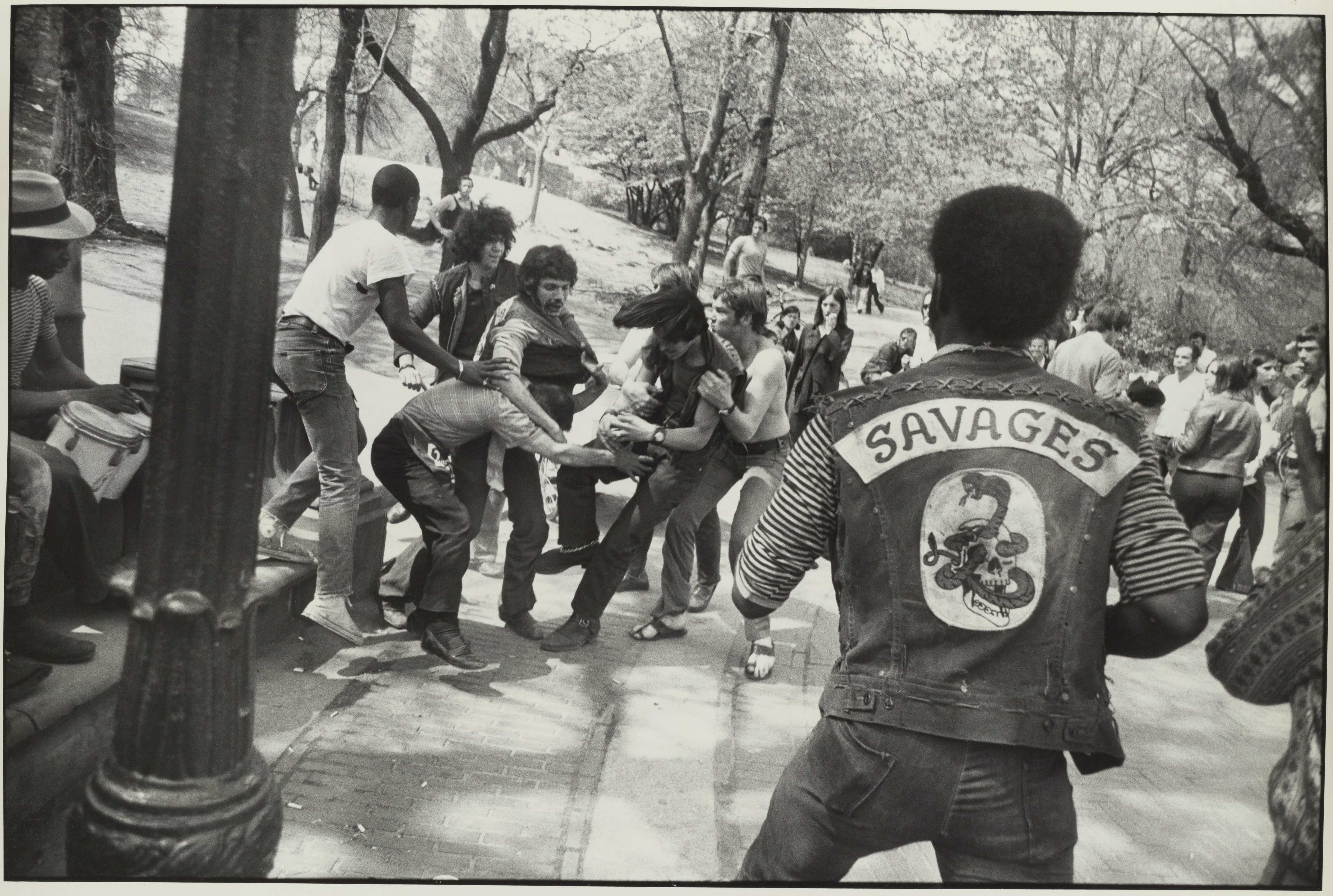 Central Park, New York, 1970