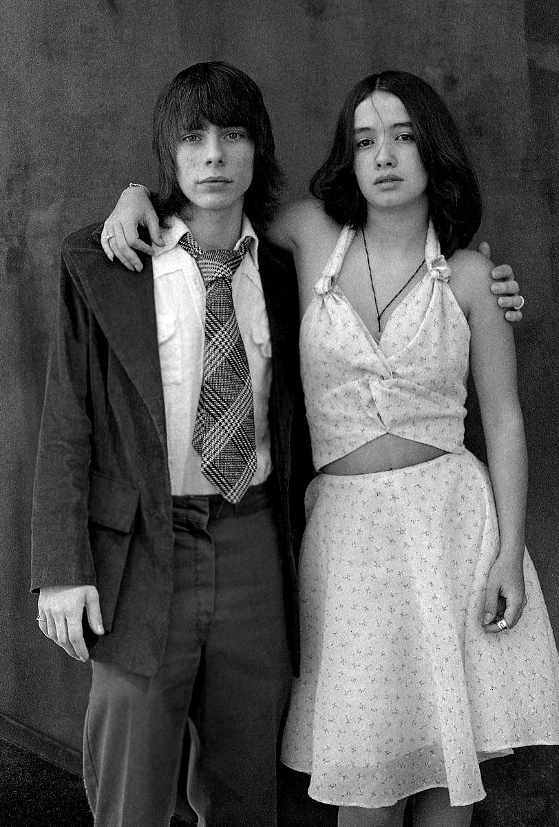 Wedding couple NYC, 1973