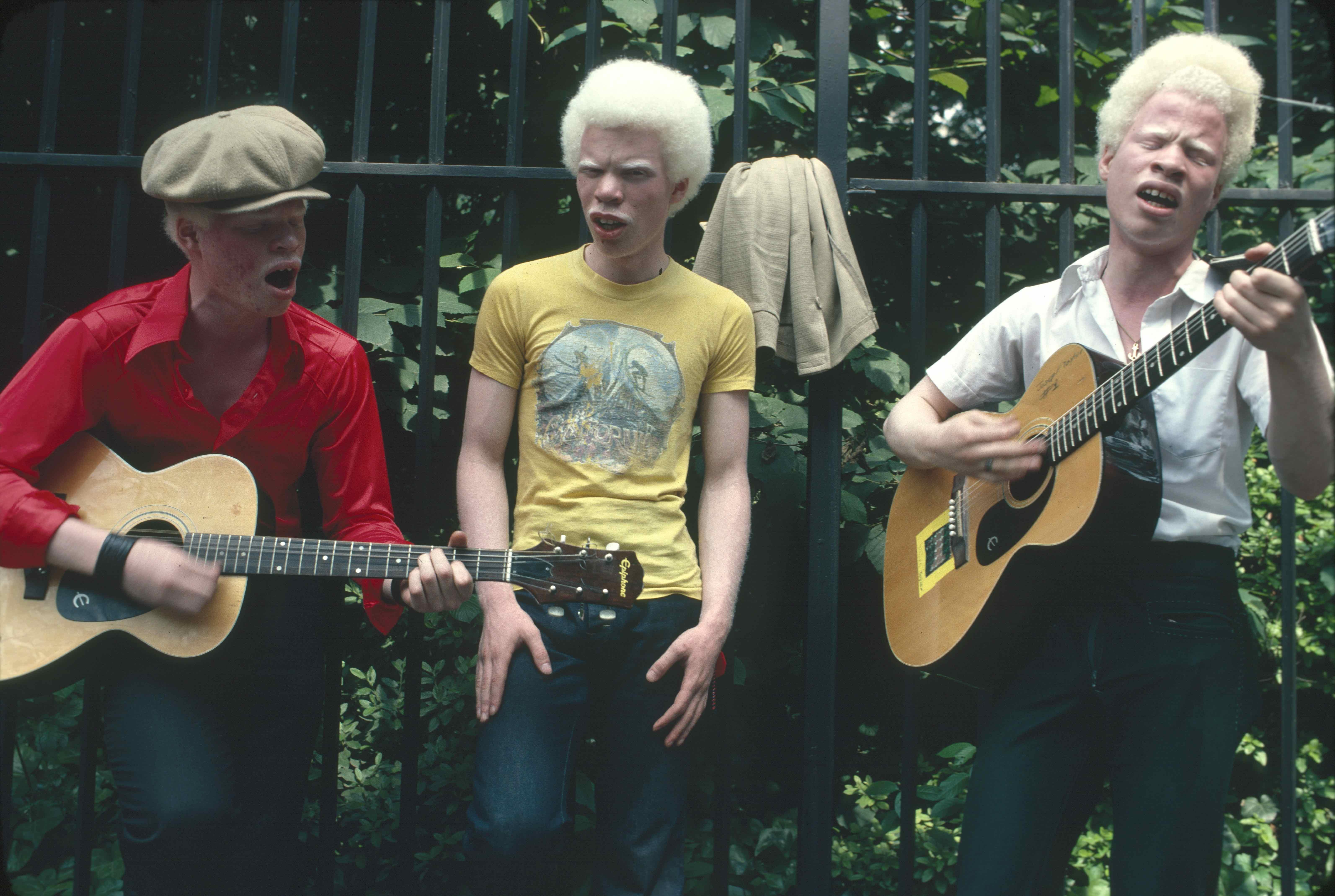 Three Musicians, c. 1980's