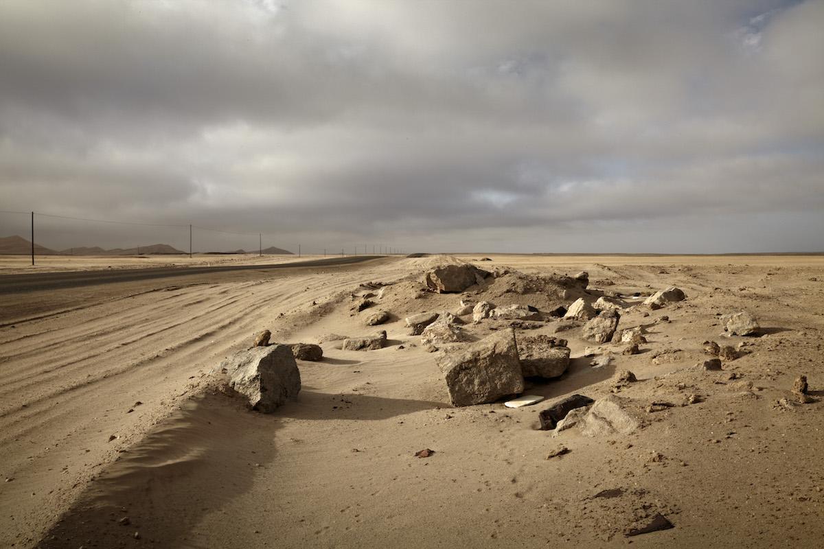 The Salt of August, Between Walvis Bay and Swakopmund, Namibia (2012)