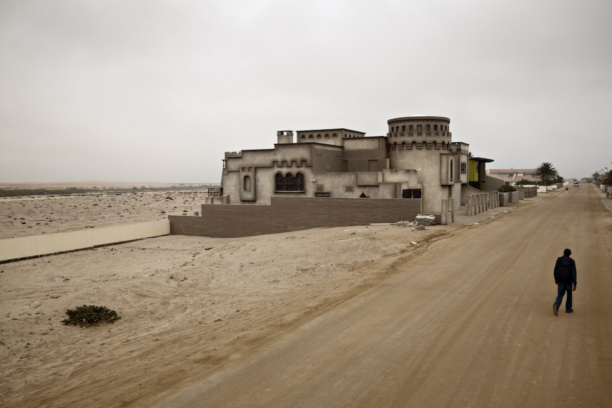 Next to the Graves, Swakopmund, Namibia (2012)