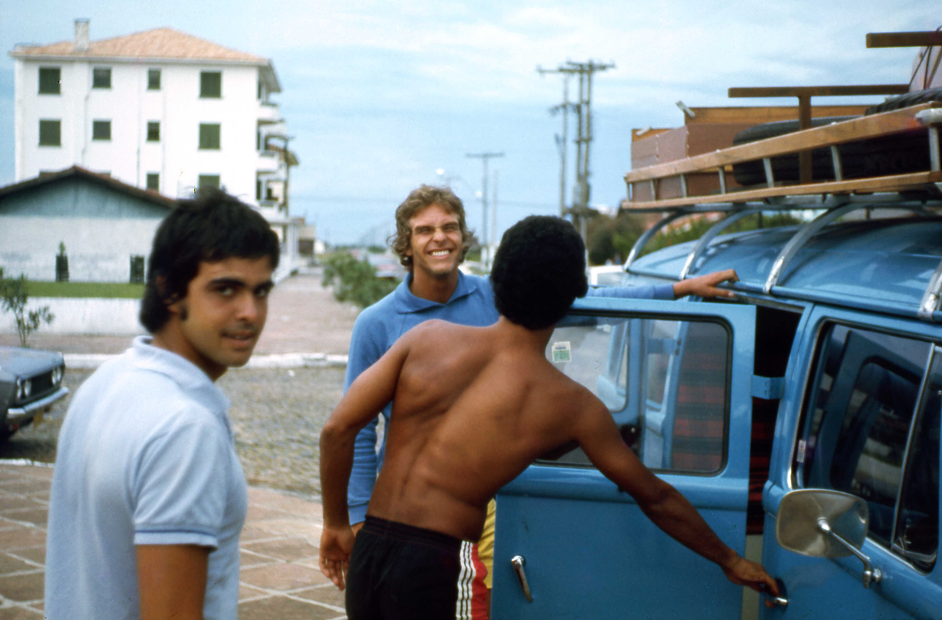 The original road trip in 1976.  Photo by João Wallig.