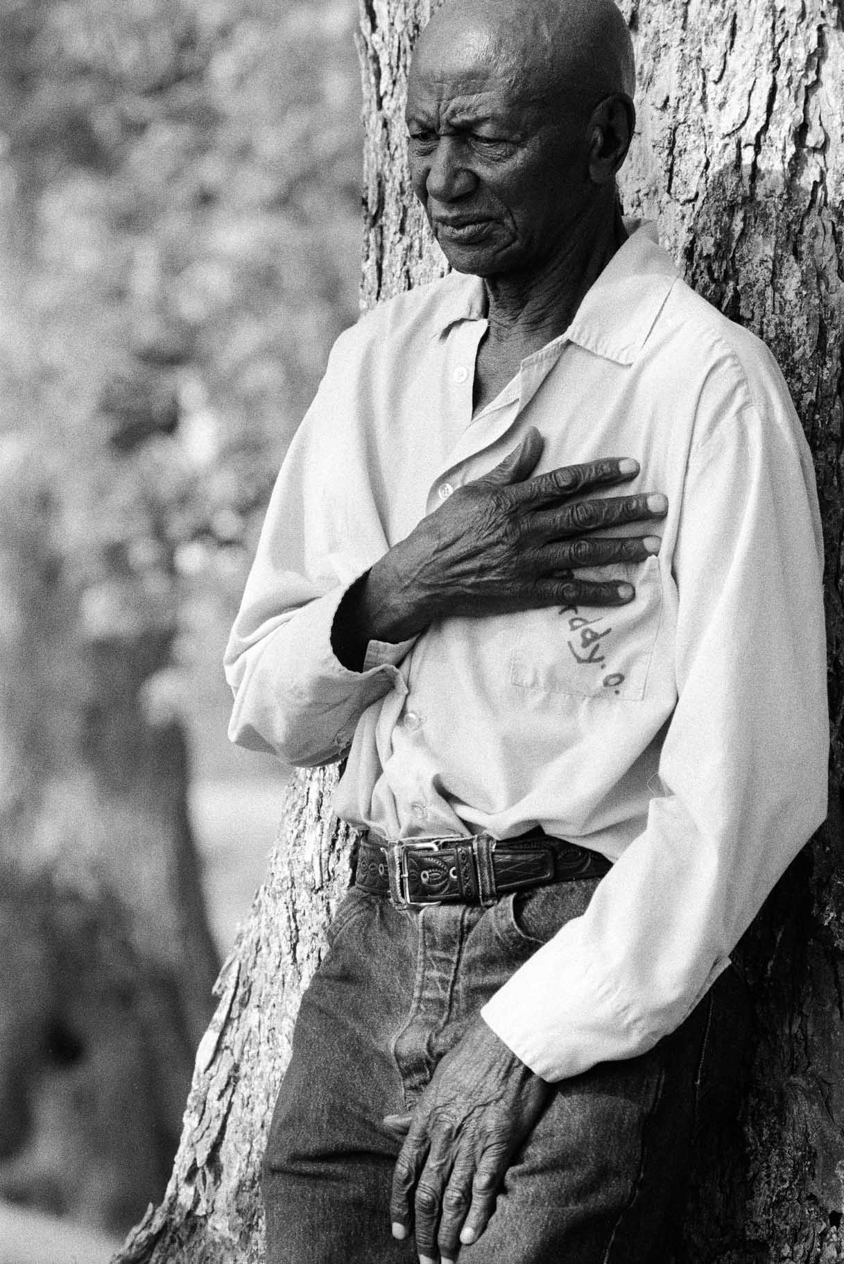 Chandra McCormick. DADDY'O, THE OLDEST INMATE IN ANGOLA STATE PENITENTIARY, 2004.