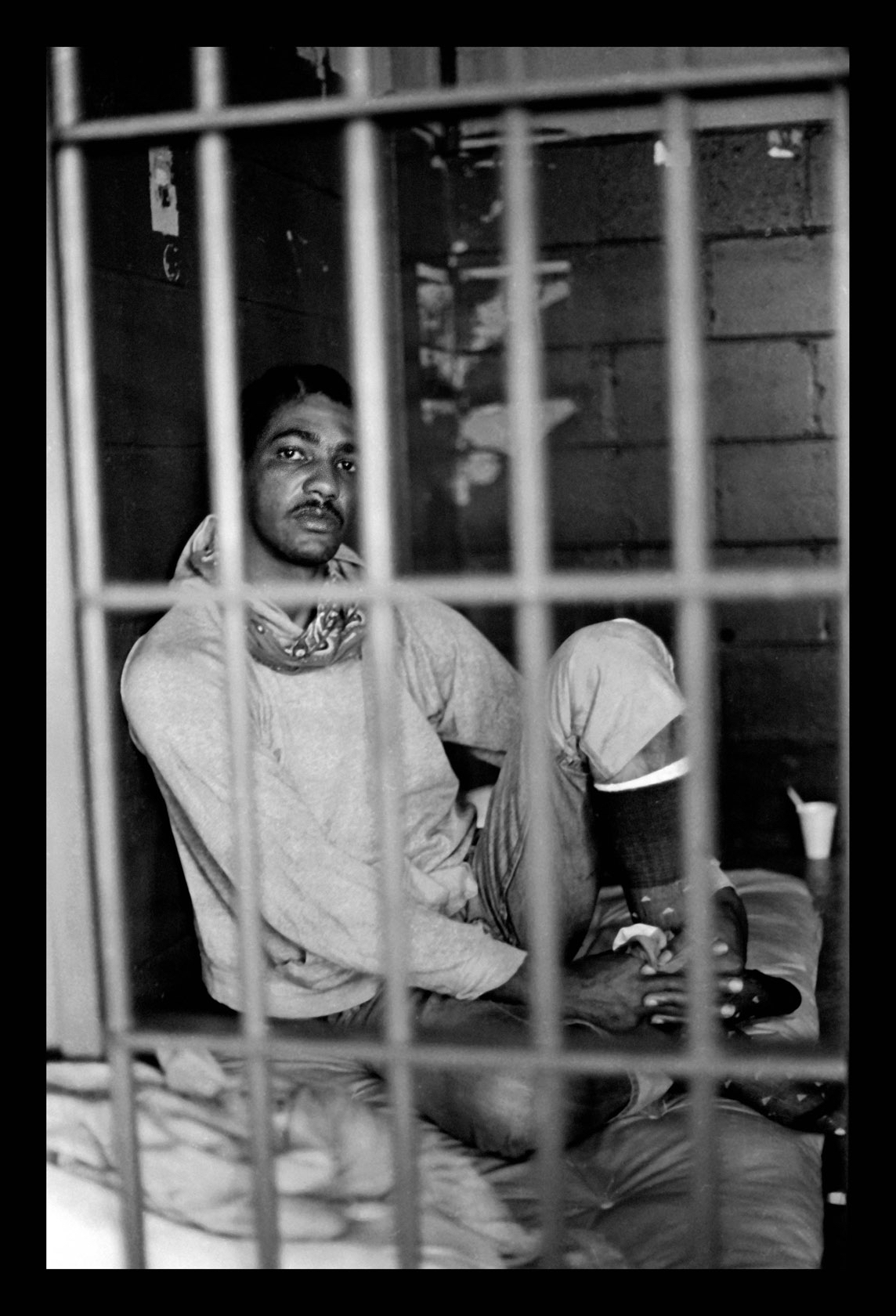 Keith Calhoun. GLENN DEMOURELLE SERVED 27 YEARS IN ANGOLA STATE PRISON, 1980.