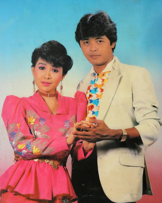 Actors Kyaw Thu & May Than Nu. Taken by U Sann Aung, USA Photo Studio, Yangon 1989/1990.