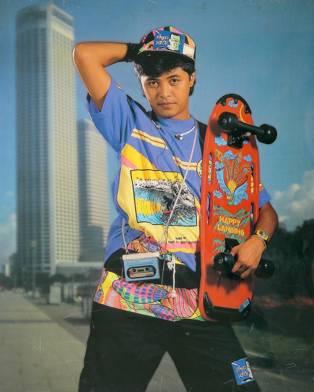 Actor Kyaw Thu. Taken by U Sann Aung, USA Photo Studio, Yangon 1989/1990