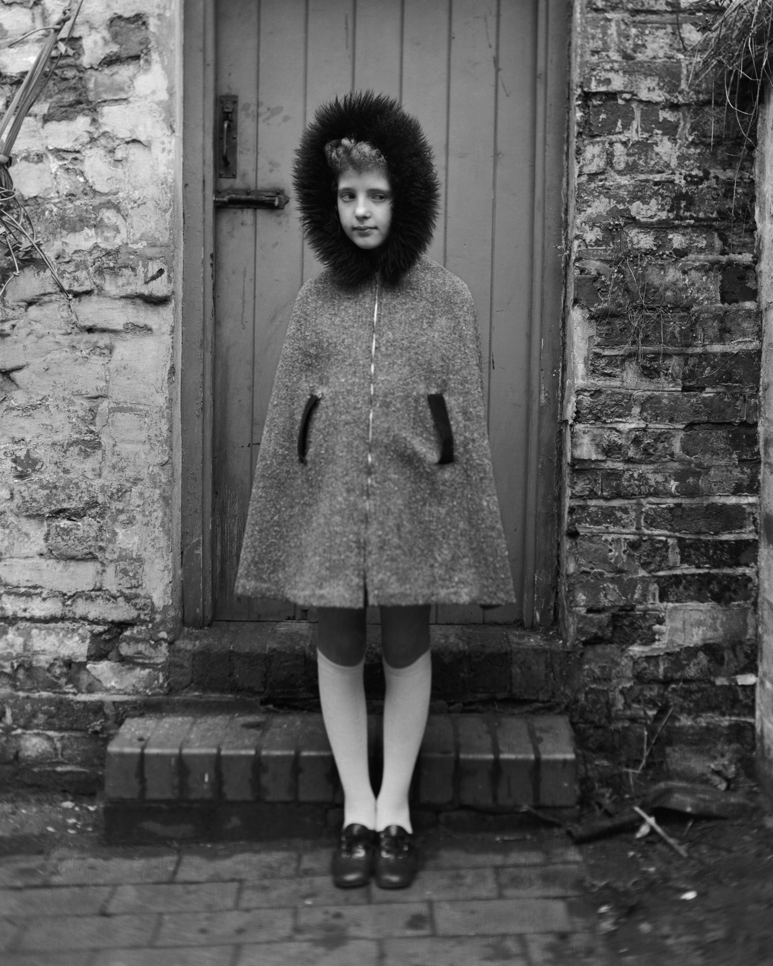Girl in hood, 1973