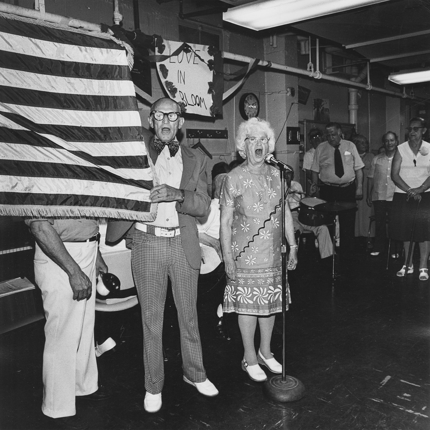 Love in Bloom God Bless America Henry Street Settlement Good Companions Senior Centre 1978