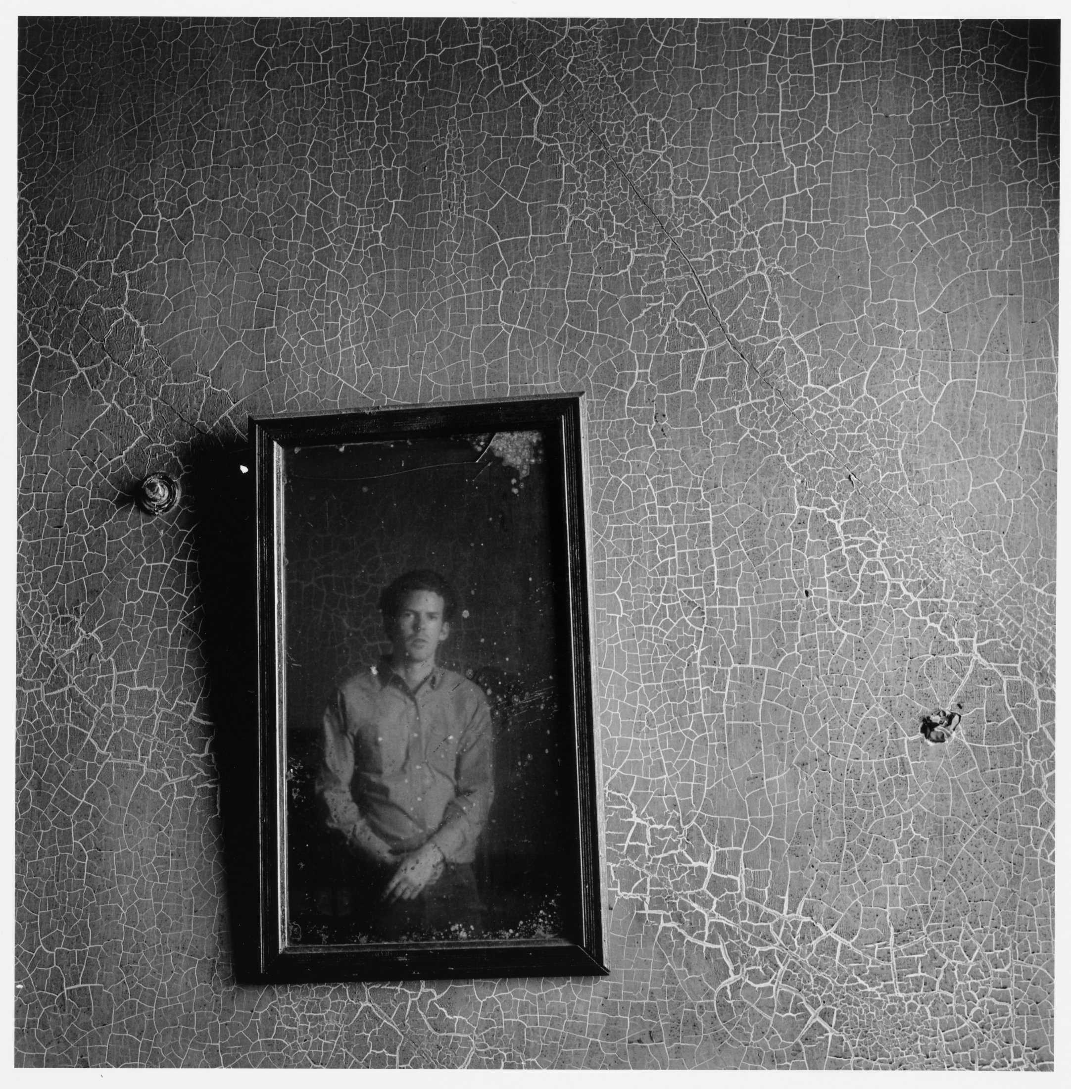 Portrait of a young man in an abandoned room, 1966–67. The Cleveland Museum of Art, Gift of George Stephanopoulos