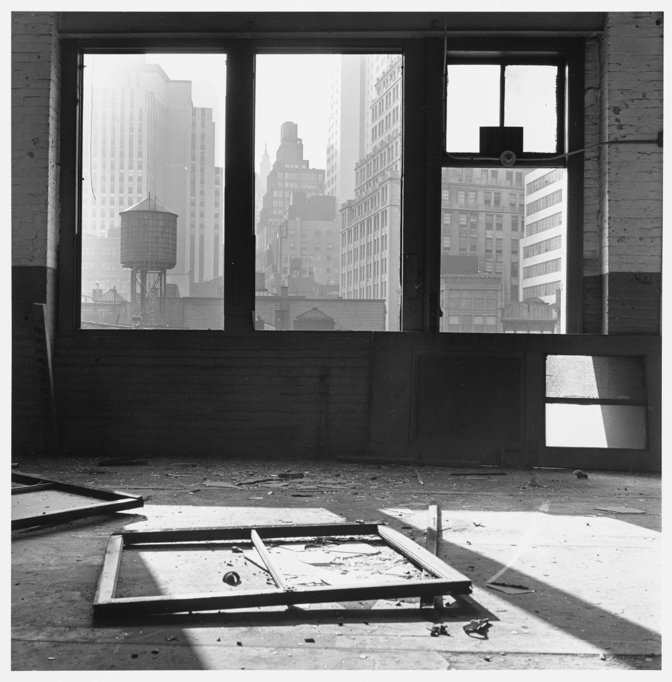 View south from 88 Gold Street, 1966–67. The Cleveland Museum of Art