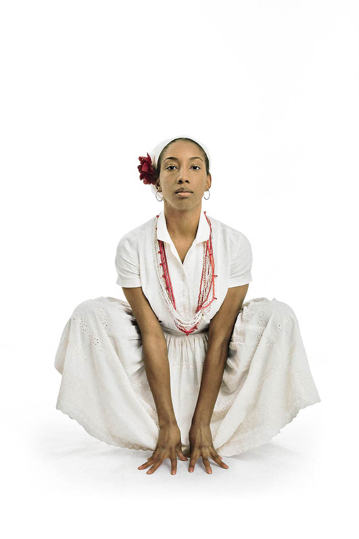 """Ayana Jackson, Leapfrog series:Martha, 2016, courtesy of the artist and Mariane Ibrahim Gallery, Seattle,from """"All Power: Visual Legacies of the Black Panther Party,"""" PCNW 2018"""
